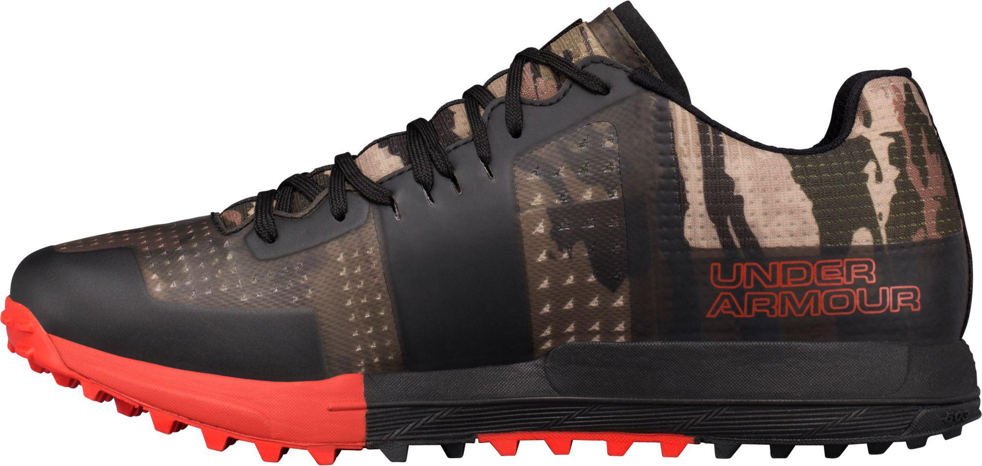 c8cef28541b626 Under Armour - Black Horizon Rtr Camo Trail Running Shoes for Men - Lyst