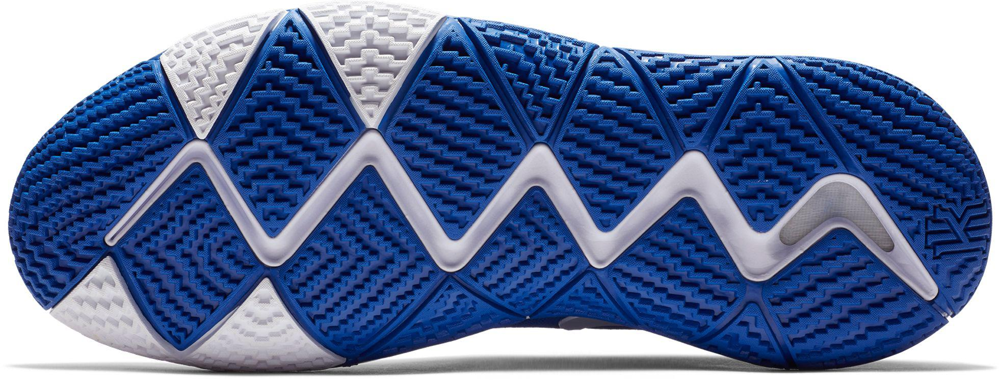 newest a5633 cb656 Men's Blue Kyrie 4 Tb Basketball Shoes