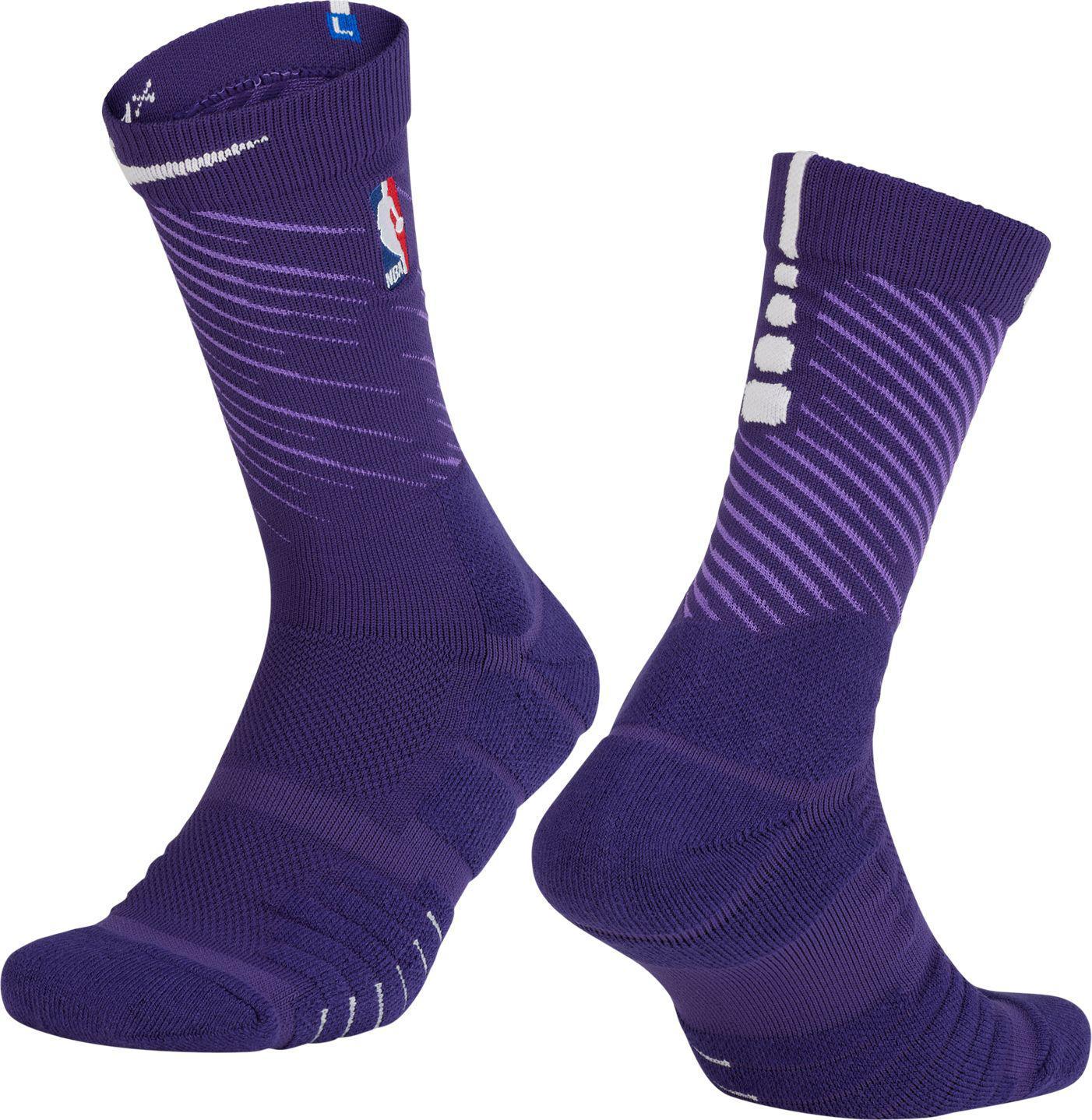 a3ab6d82a870 Lyst Nike Phoenix Suns City Edition Elite Quick Nba Crew Socks In