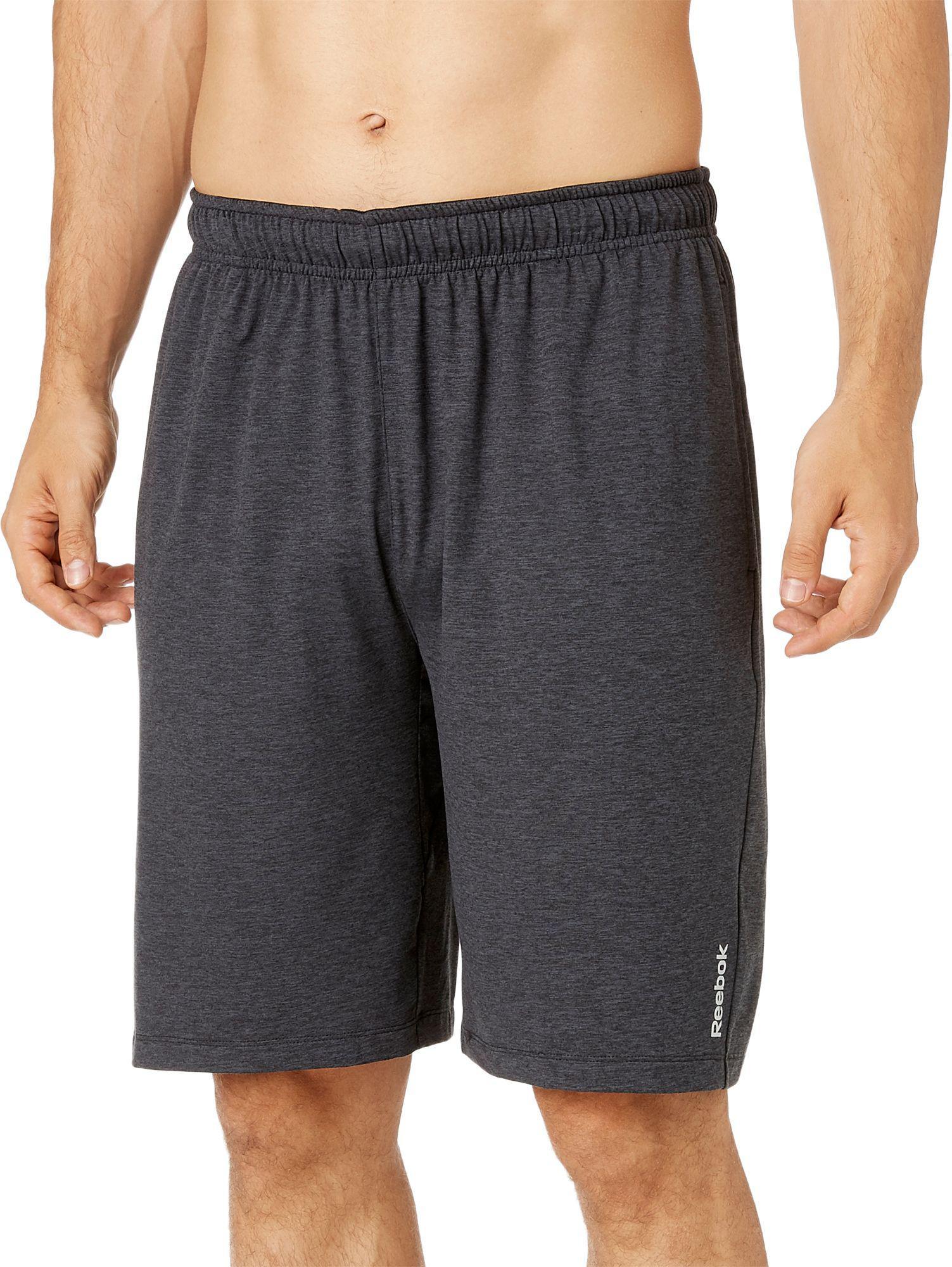 Reebok Black Polyester Shorts - Buy Reebok Black Polyester