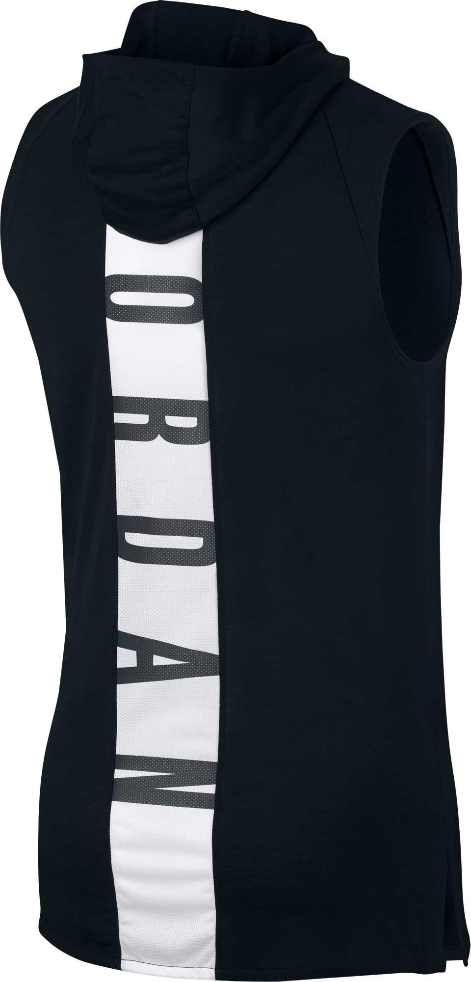 c2ef6f8f1ef Nike Jordan Dry 23 Alpha Hooded Sleeveless Tank Top in Black for Men ...