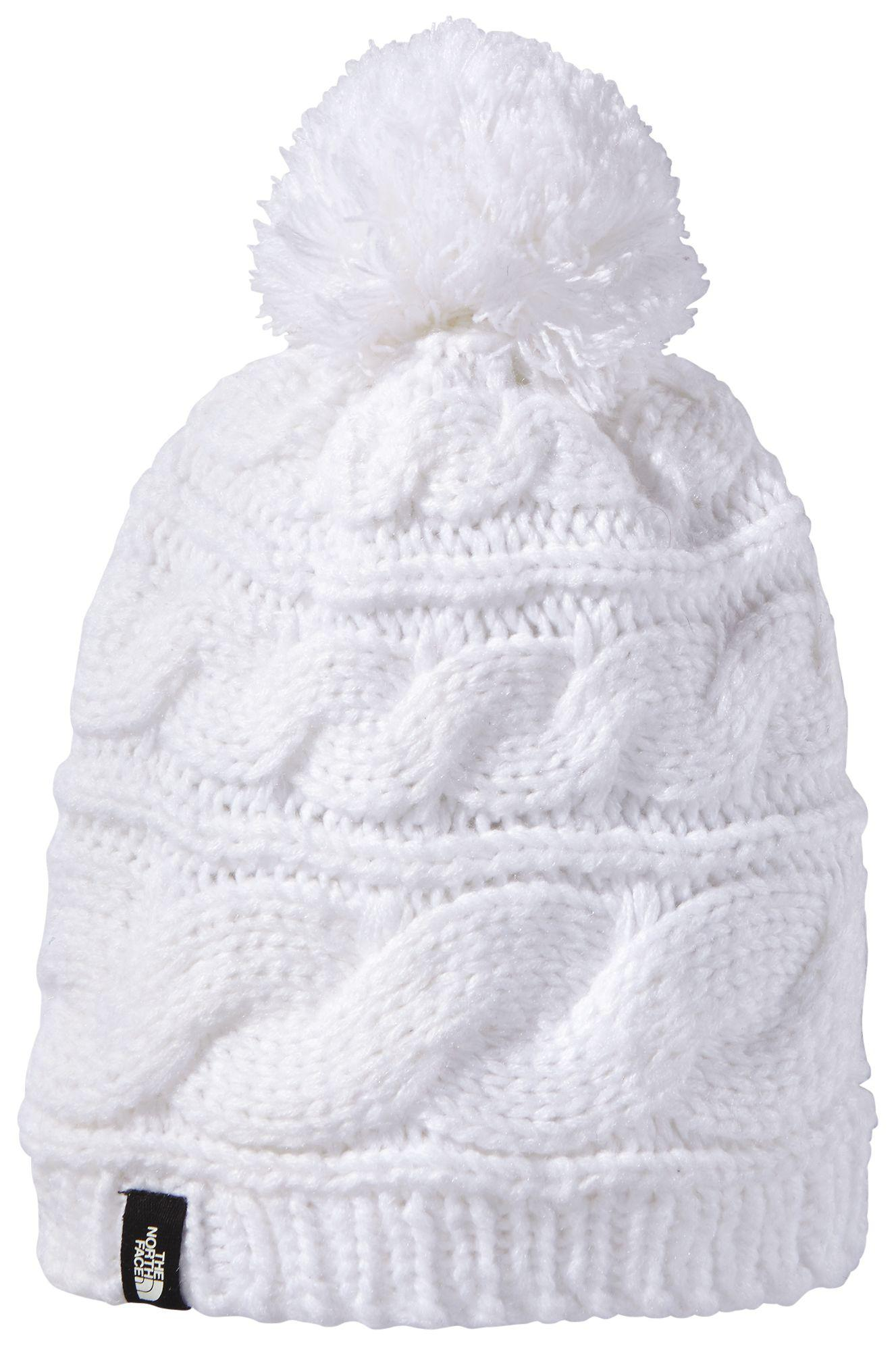 e985942ef92fa Lyst - The North Face Triple Cable Pom Beanie in White