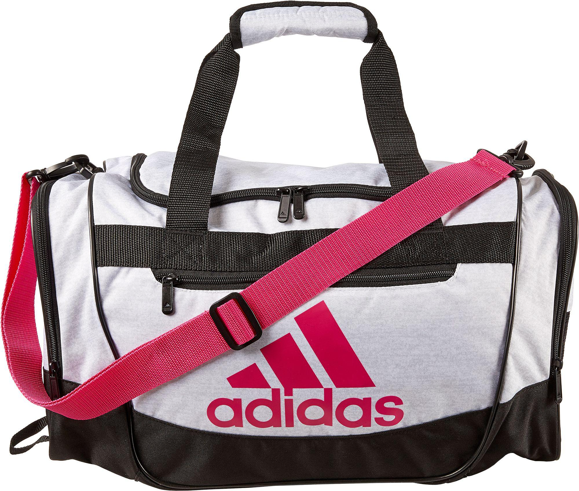 Adidas - White Defender Iii Small Duffle Bag for Men - Lyst. View fullscreen 2a08a4aef10d7