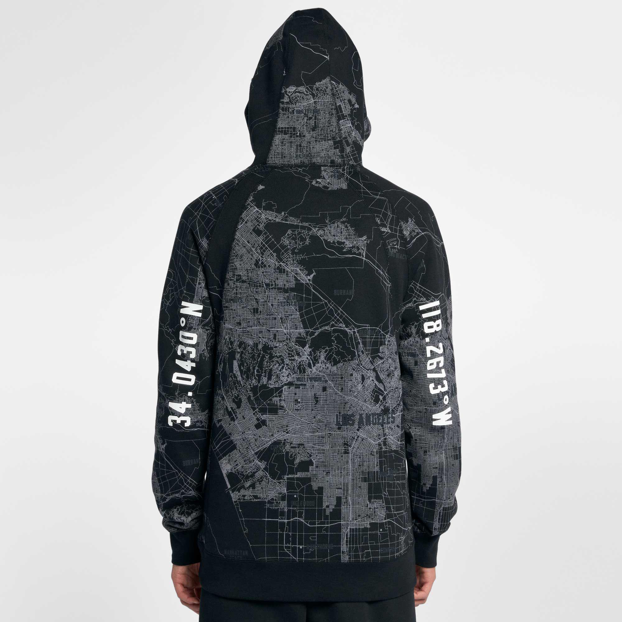 promo code 50940 cc71b Lyst - Nike Jordan Sportswear Wings City Of Flight Hoodie in Black ...