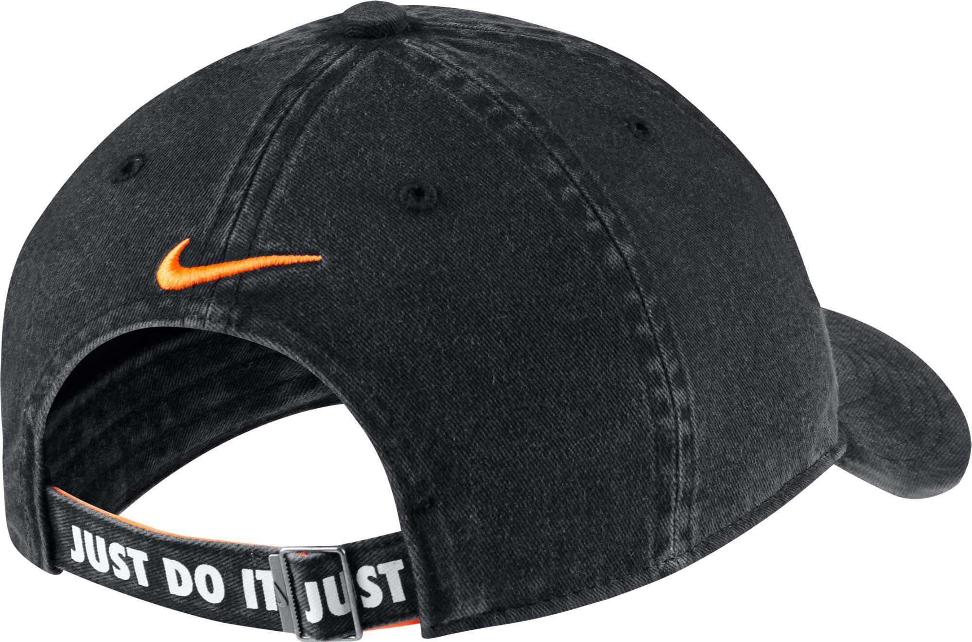 f856c0f5 Nike - Black Oys' Heritage86 Shoebox Adjustable Hat for Men - Lyst. View  fullscreen