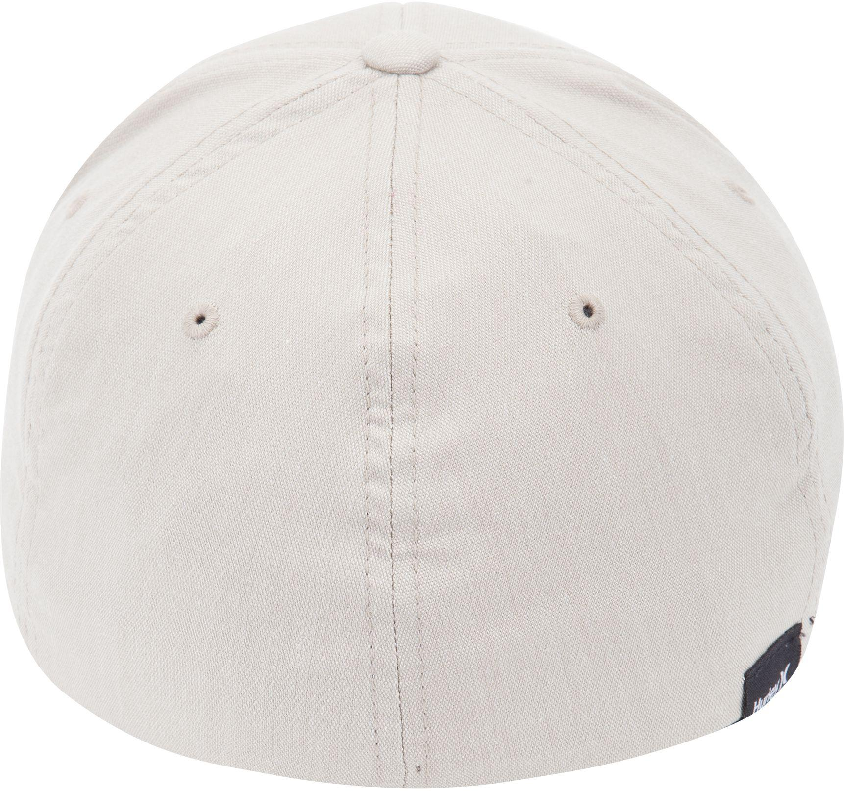 the latest 508f4 3ef8d 9b27e d3921  amazon lyst hurley dri fit flow flexfit hat in natural for men  79316 91c63