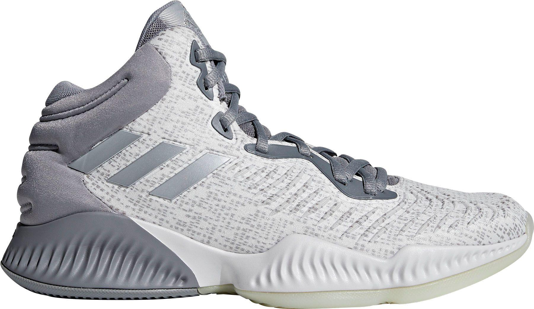 fef1e4ba312a ... best sneakers 9a084 f6b00 Adidas - Gray Mad Bounce 2018 Basketball Shoes  for Men - Lyst