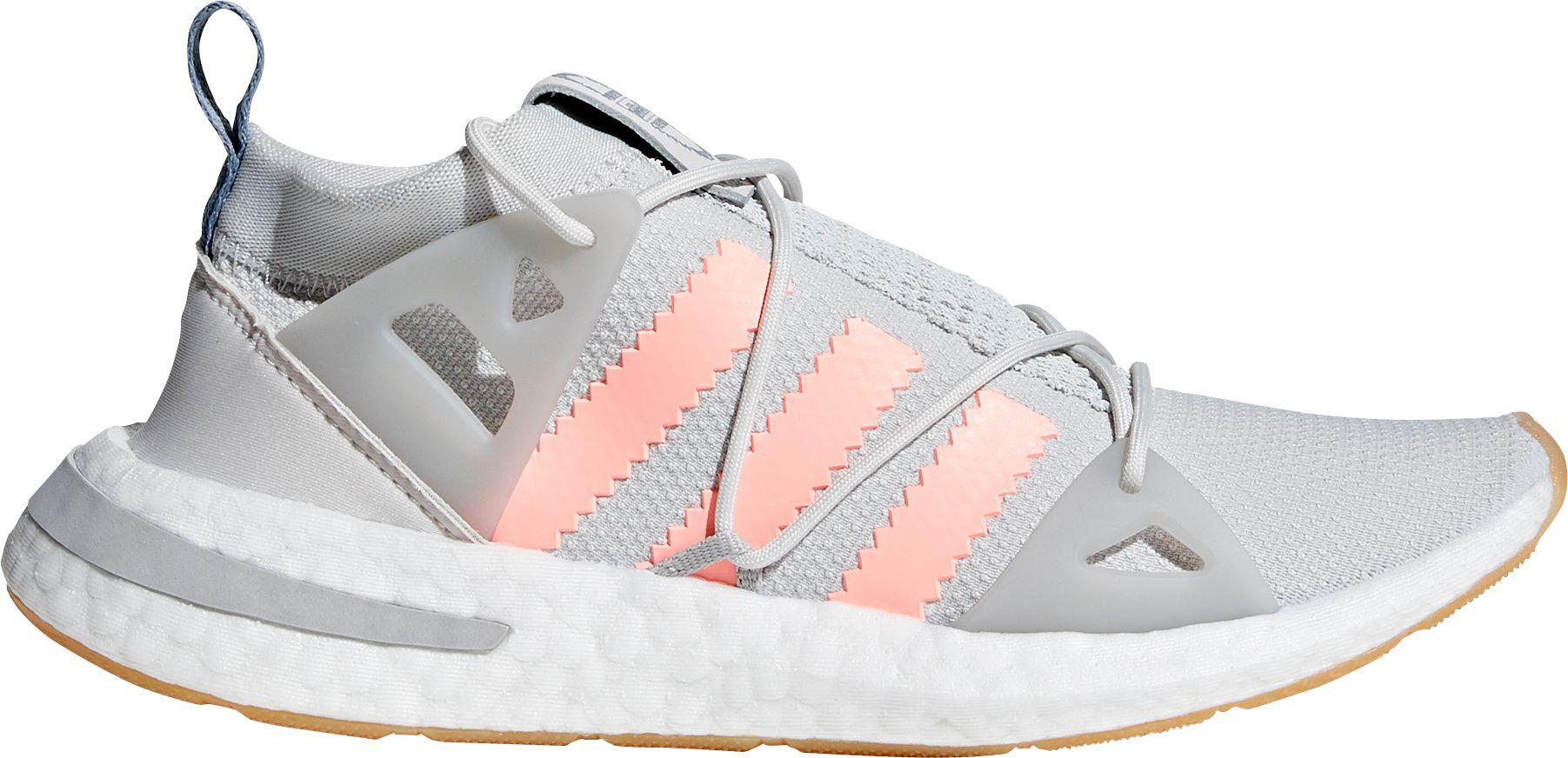 damen adidas Originals SWIFT RUN Sneaker low greyorange