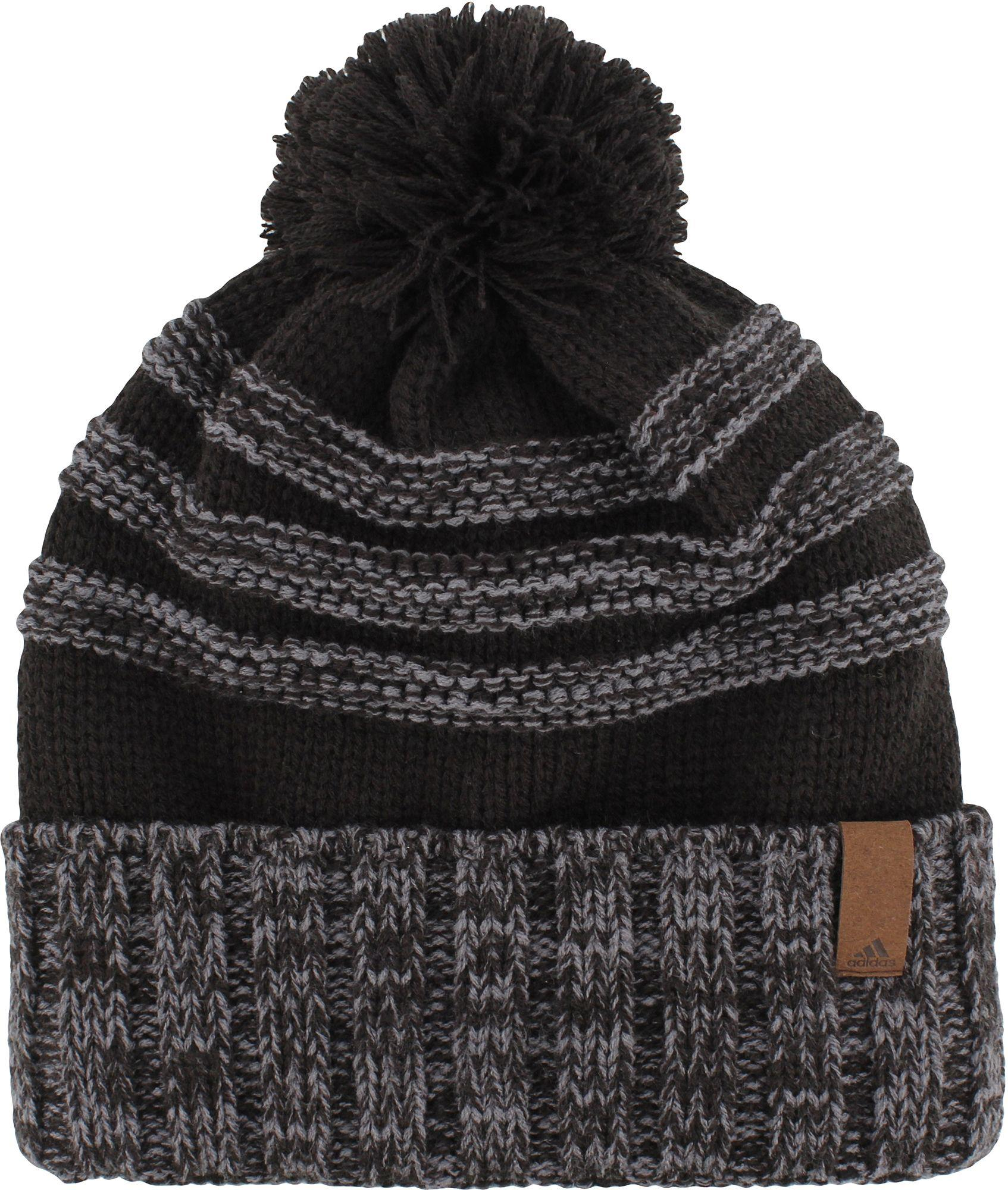 ADIDAS CLIMAHEAT CLASSIC POM POM WINTER THERMAL BEANIE HAT @ 50/% OFF RRP !!!!