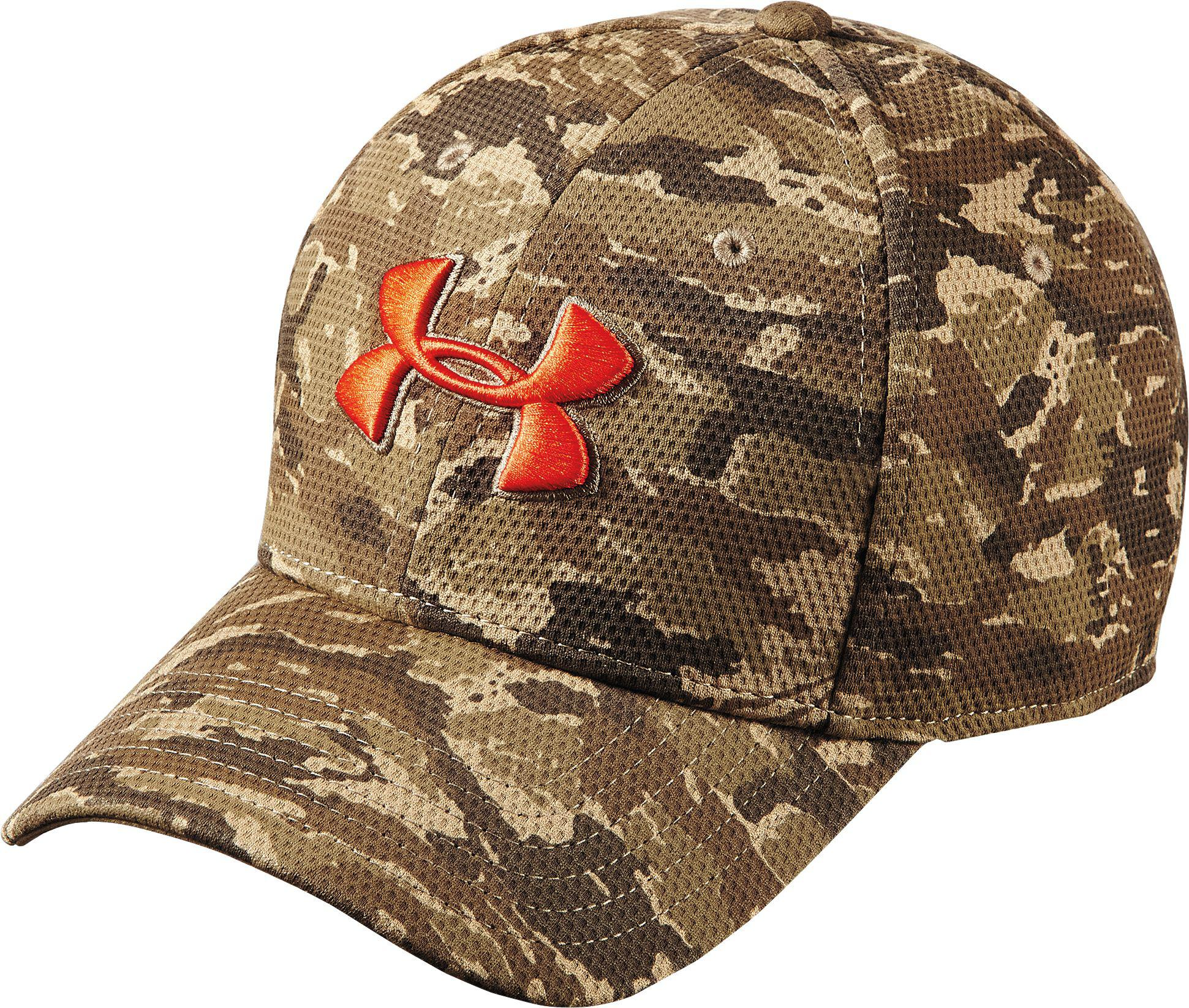 414c93eca21 Lyst - Under Armour Printed Blitzing Stretch Fit Hat for Men