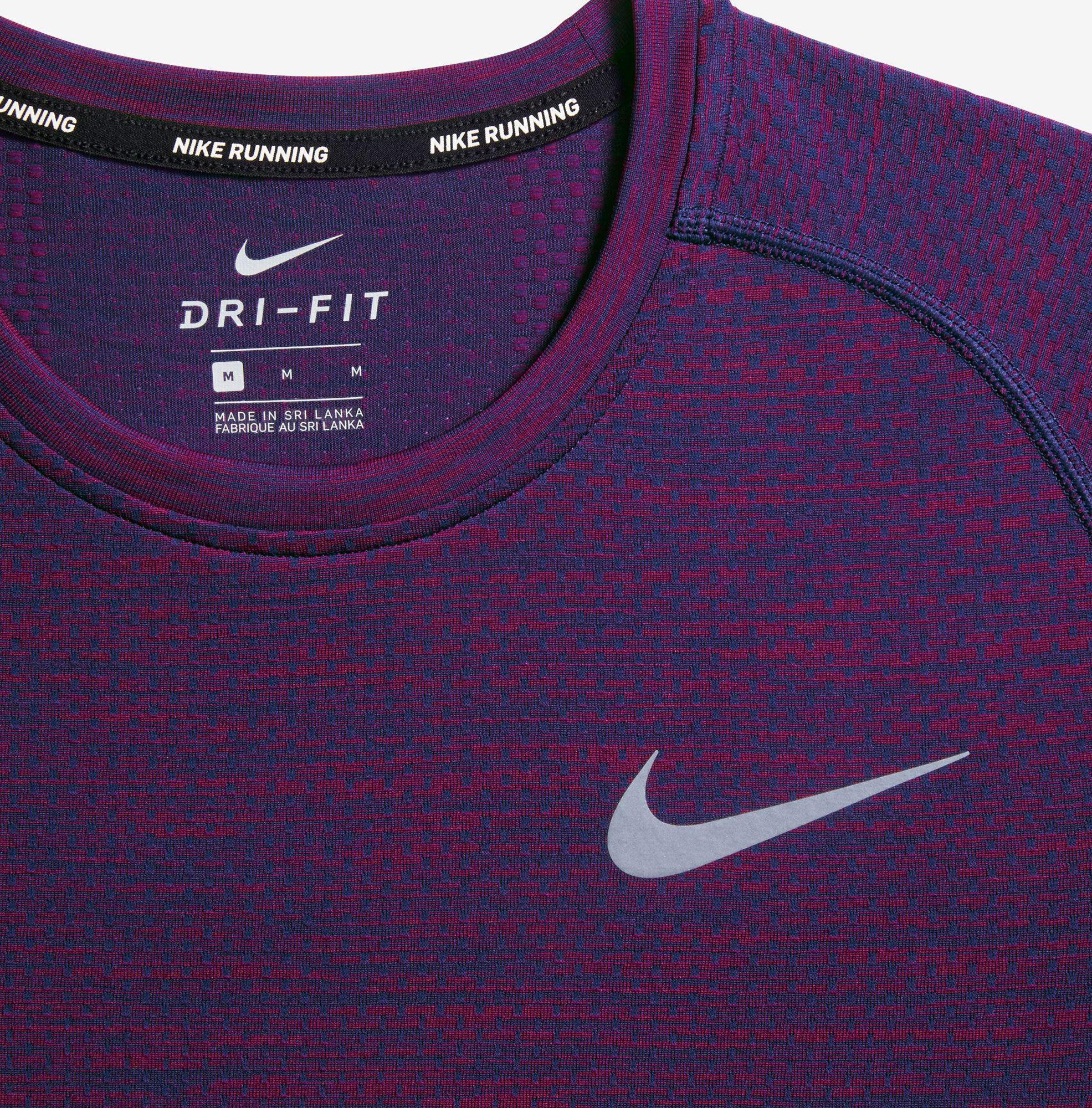 96f150c2b Nike Dri Fit Knitted Short Sleeved T Shirt Mens - DREAMWORKS