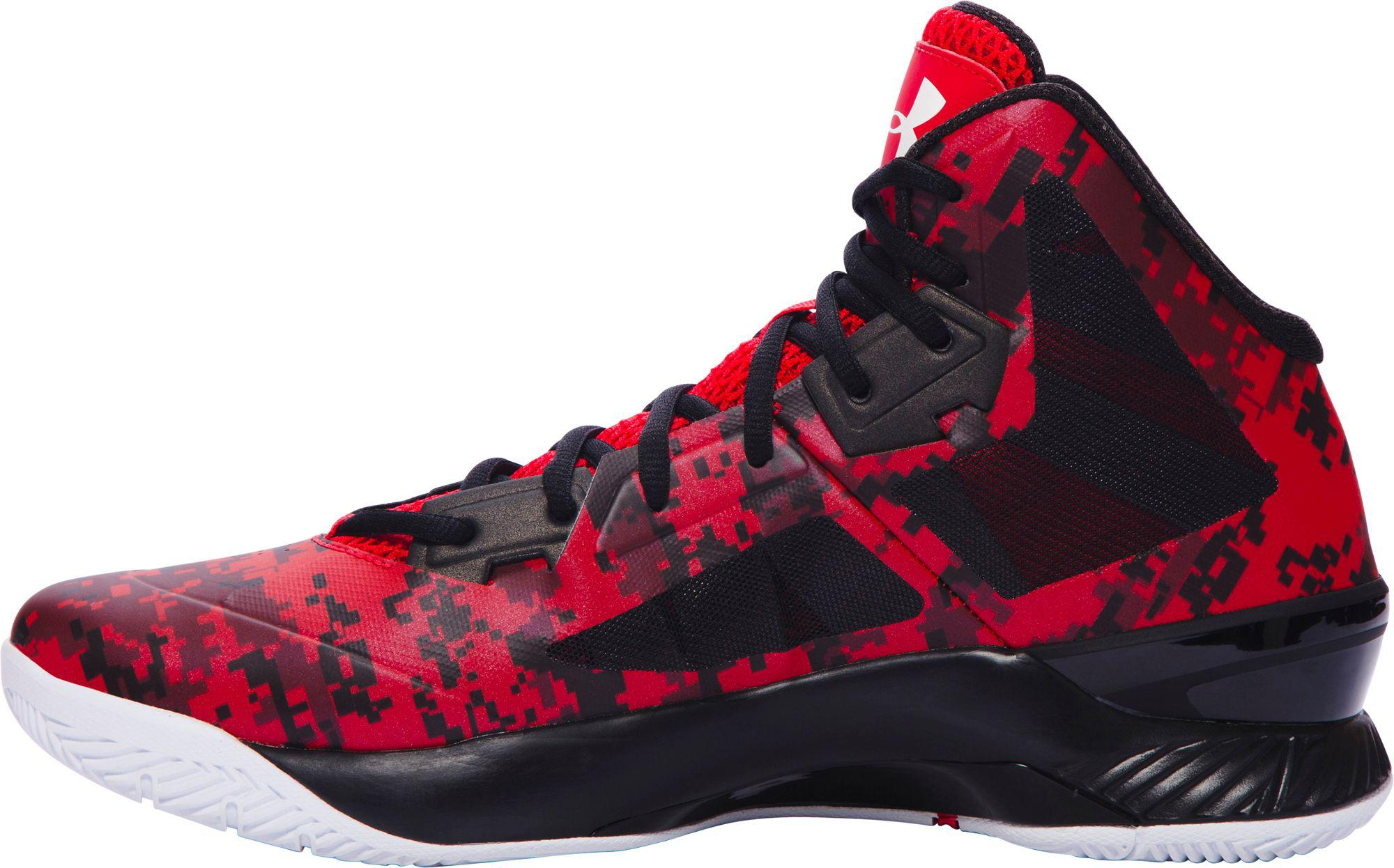 c68847556713 ... new arrivals lyst under armour clutchfit lightning basketball shoes in  red for men c1867 d1eaf