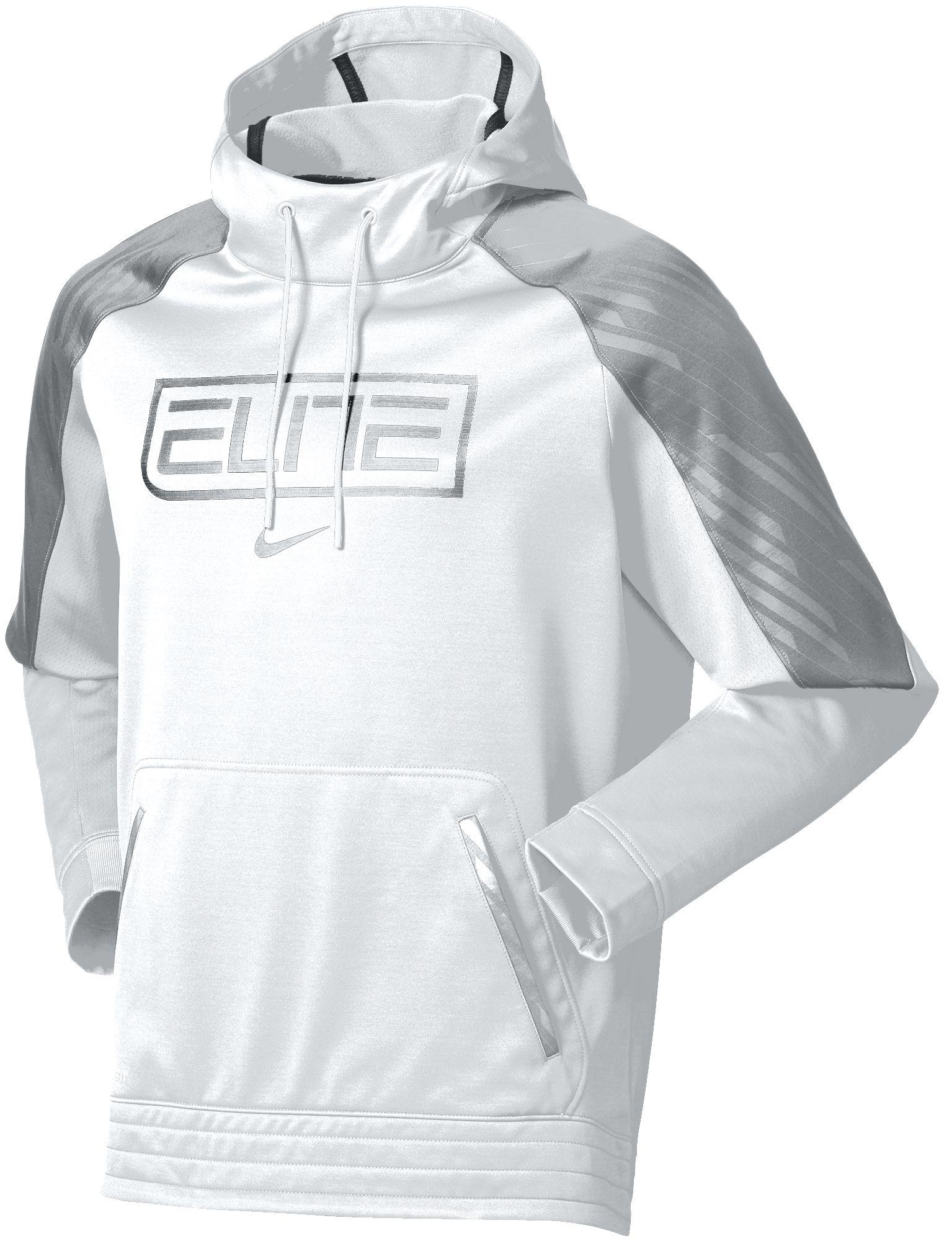 Lyst - Nike Elite Basketball Hoodie in White for Men 0a67d9ea53d4