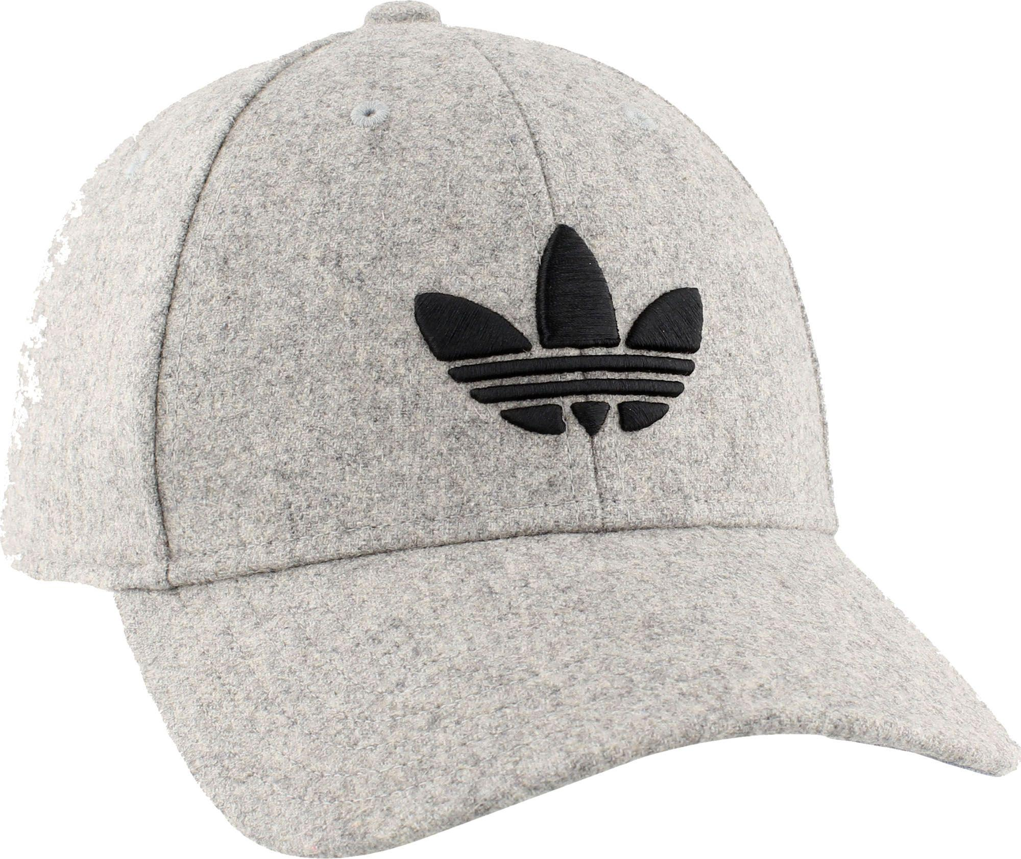 84c0caf7d1d Lyst - adidas Originals Trefoil Plus Precurve Hat in Gray for Men