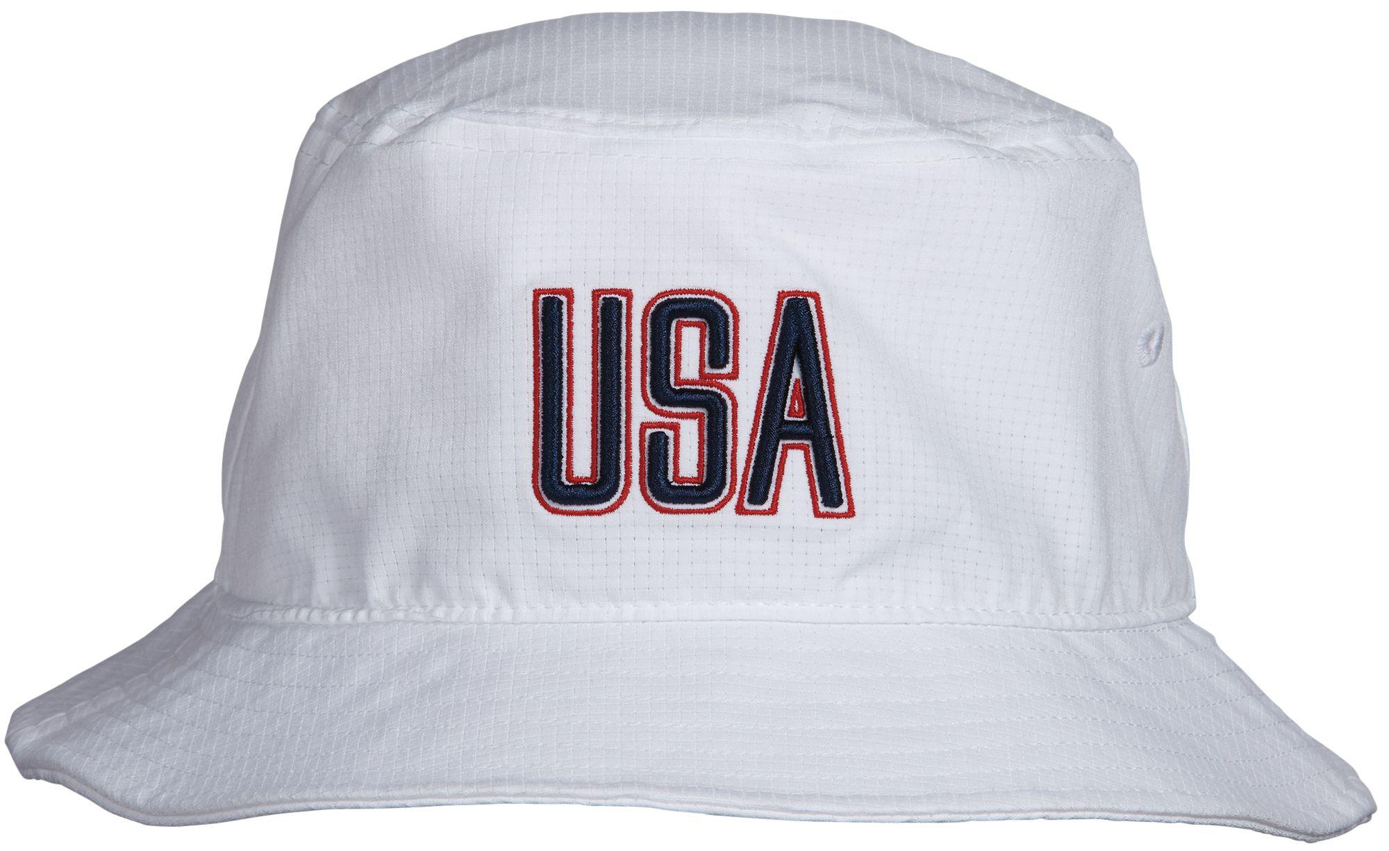 9f7434ba782 Lyst - Under Armour Armourvent Usa Bucket Hat in White for Men