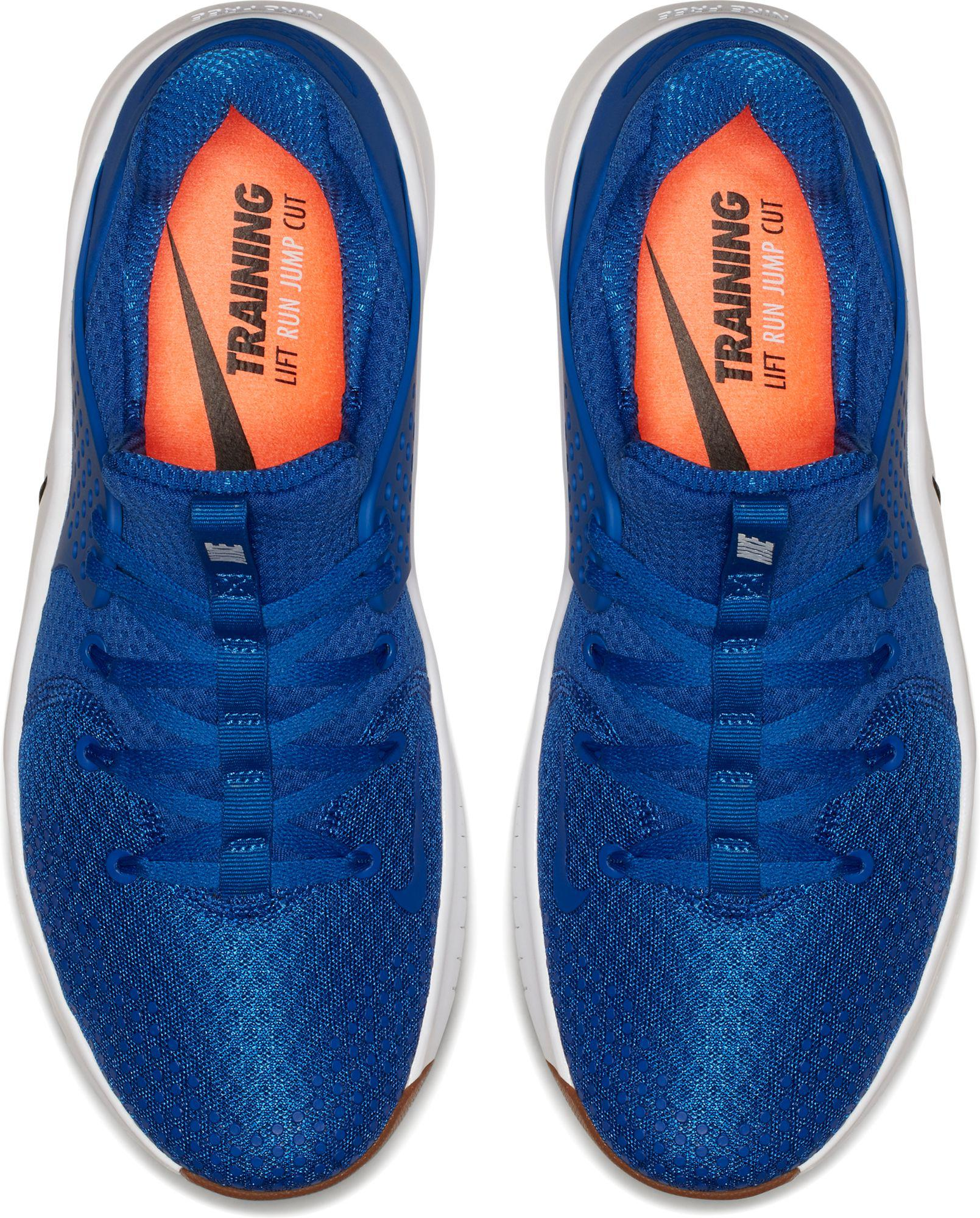 factory authentic 5269a 61a71 Men's Blue Free Tr8 Training Shoes