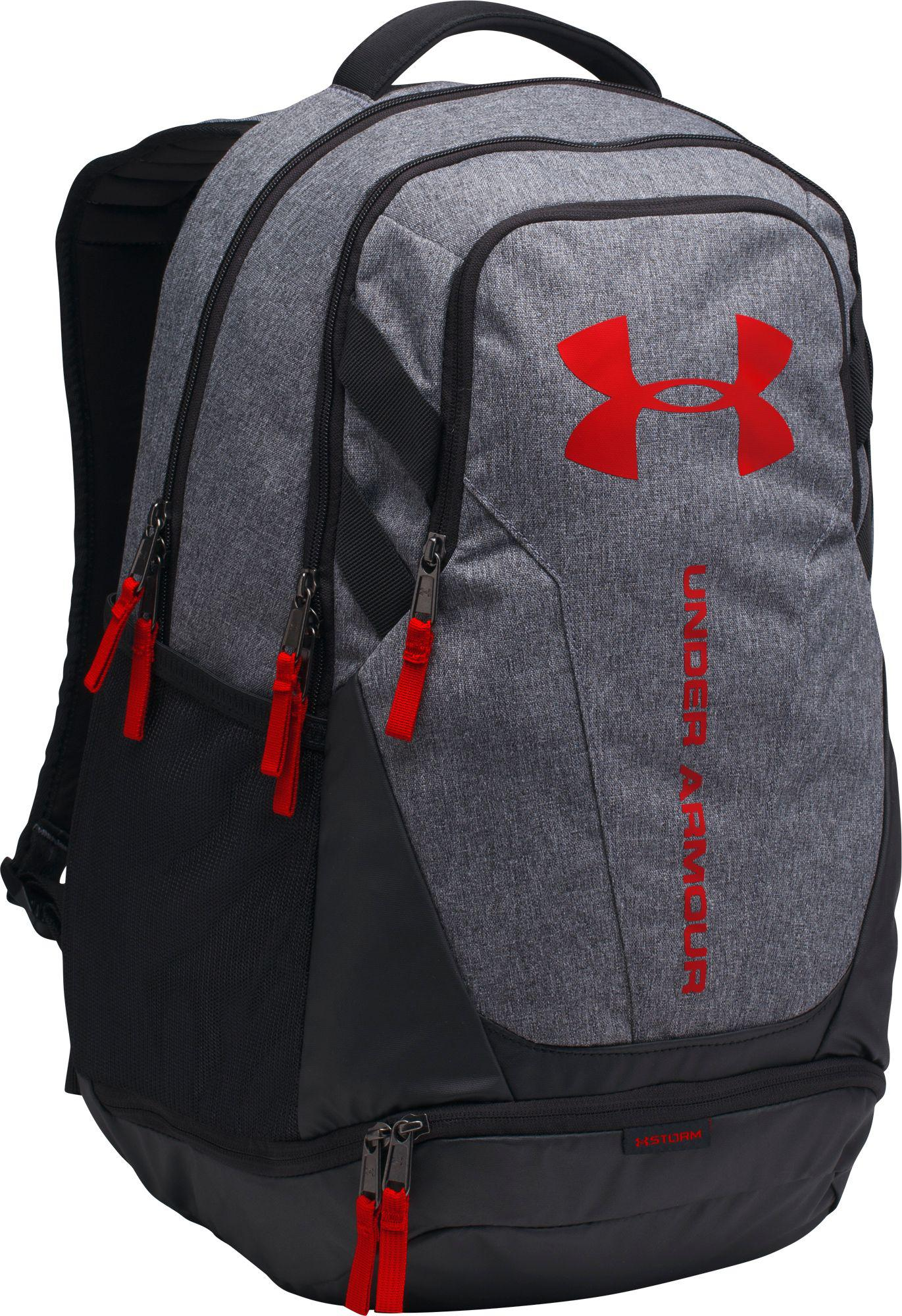 8c5a25e73e8 Lyst - Under Armour Hustle 3.0 Backpack in Black for Men