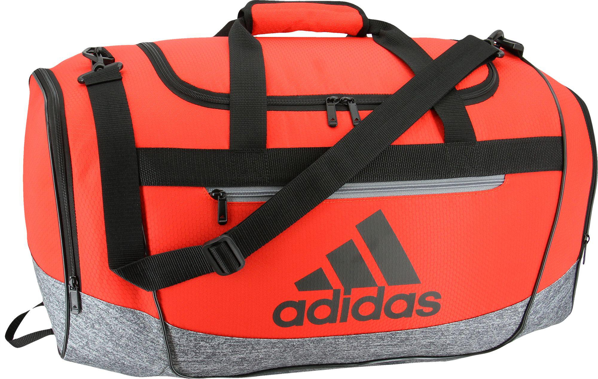 6702baa91a25 Lyst - adidas Defender Iii Small Duffle Bag in Red for Men