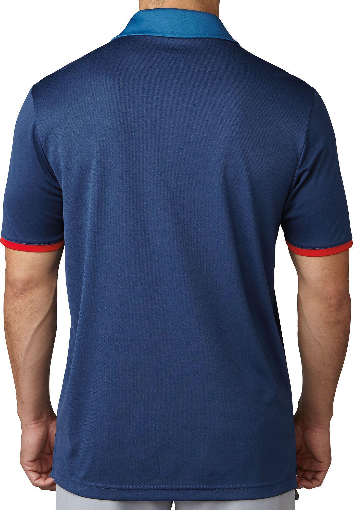 22764319 adidas Originals Climacool 2d Camo Stripe Golf Polo in Blue for Men ...