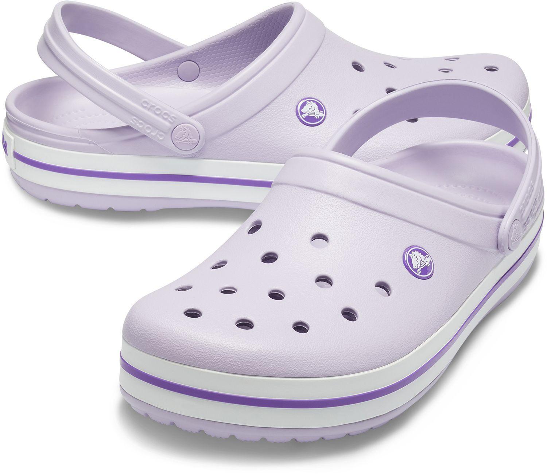 Adult Crocband Clogs in Lavender/Purple