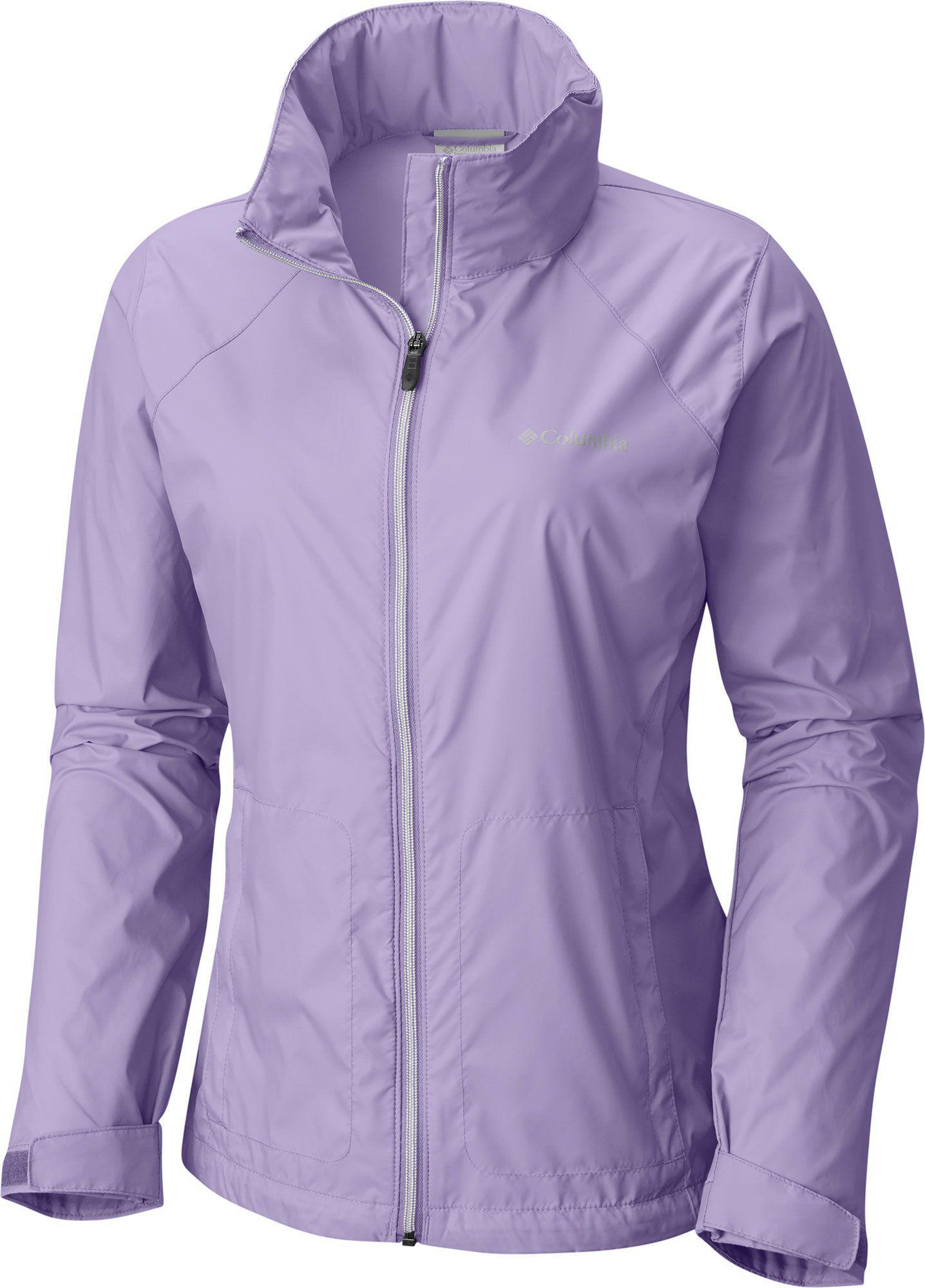 873e35657db Columbia - Purple Switchback Rain Jacket - Lyst