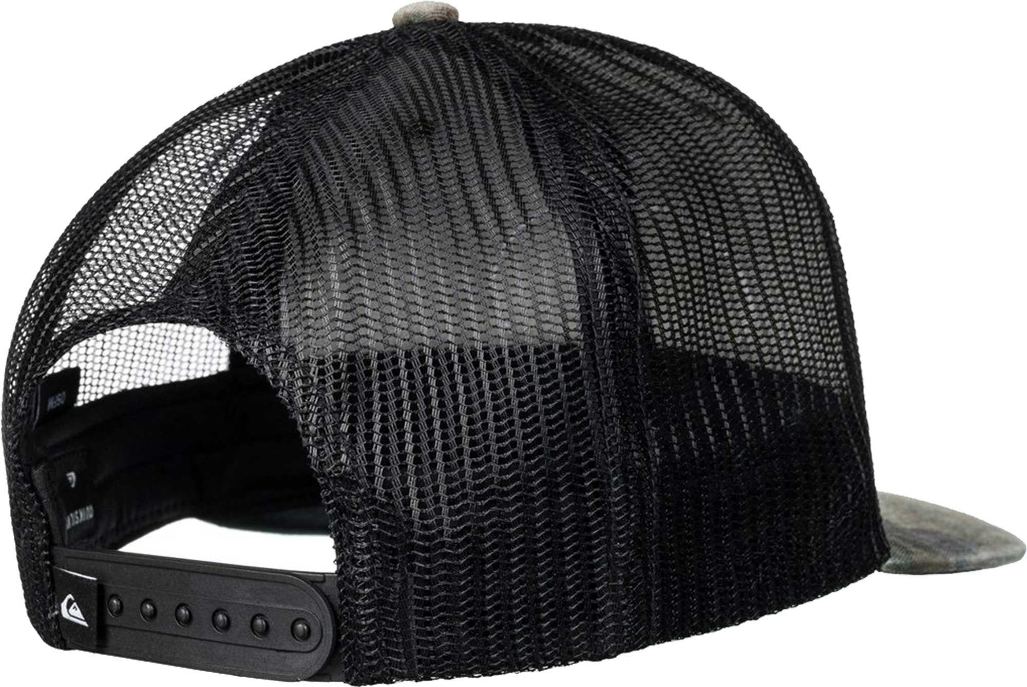 sale retailer 948de c8646 ... italy lyst quiksilver quicksilver silver lining trucker hat in black  for men 75112 bd7d4