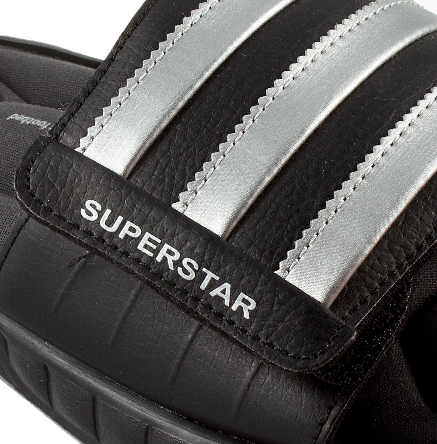 52787b147d4a Lyst - adidas Superstar 3g Slides in Black for Men