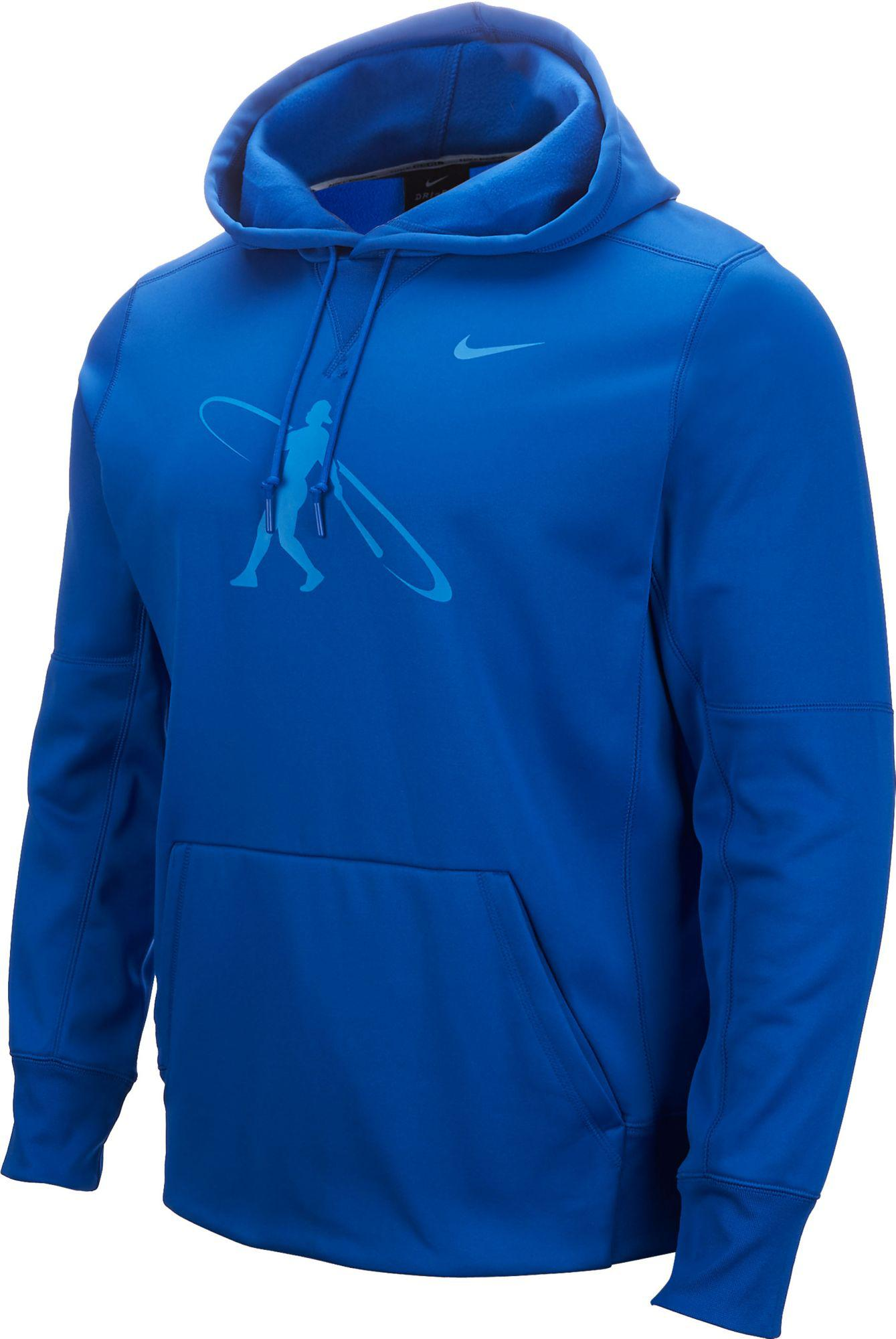 b574152e9ff Nike Swingman Baseball Hoodie in Blue for Men - Lyst