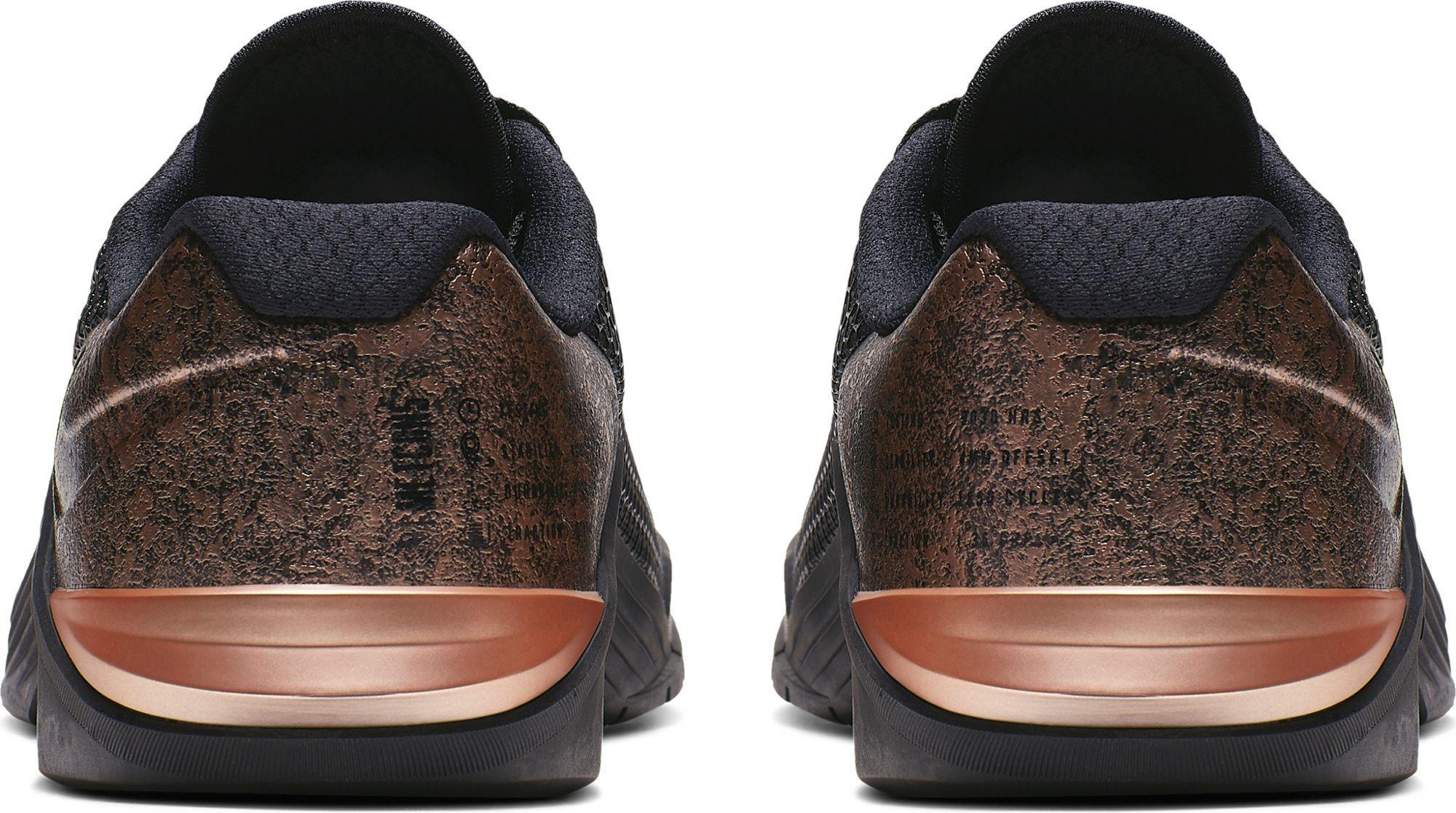 Nike Metcon 5 Black X Rose Gold