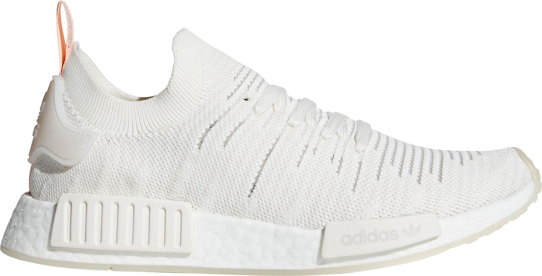 new product 17c24 9083a Adidas White Originals Nmd_r1 Stlt Primeknit Shoes