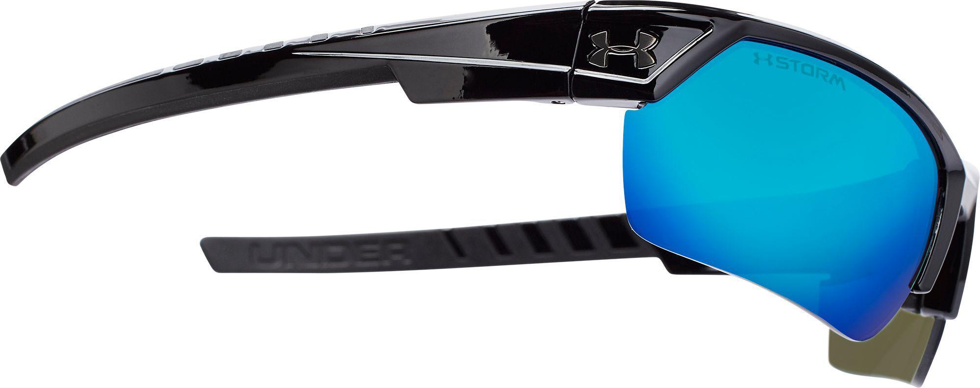 9ba9158fc0 Under Armour - Black Igniter 2.0 Storm Polarized Sunglasses for Men - Lyst