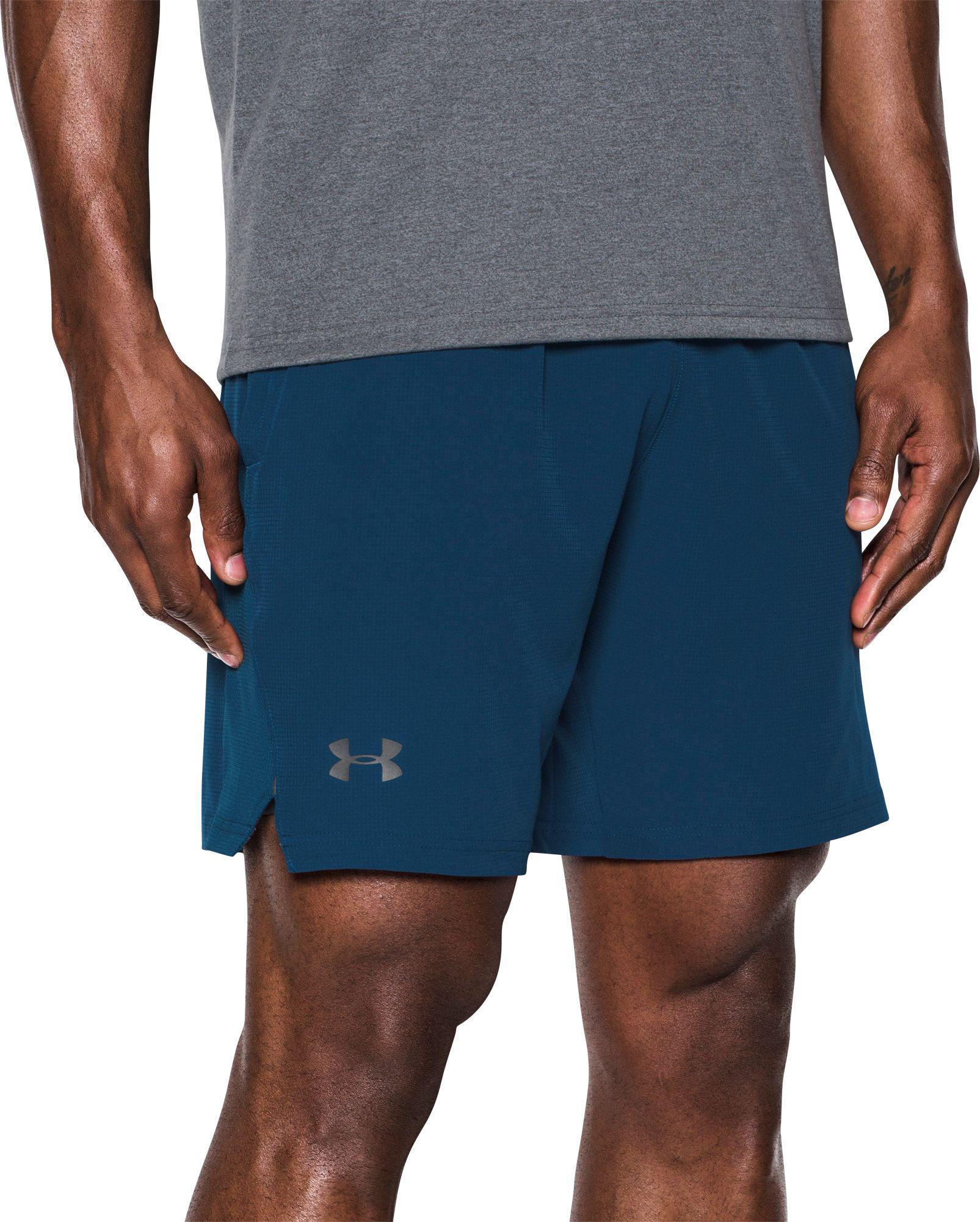 Dar una vuelta influenza muestra  buy > navy blue under armour shorts, Up to 67% OFF