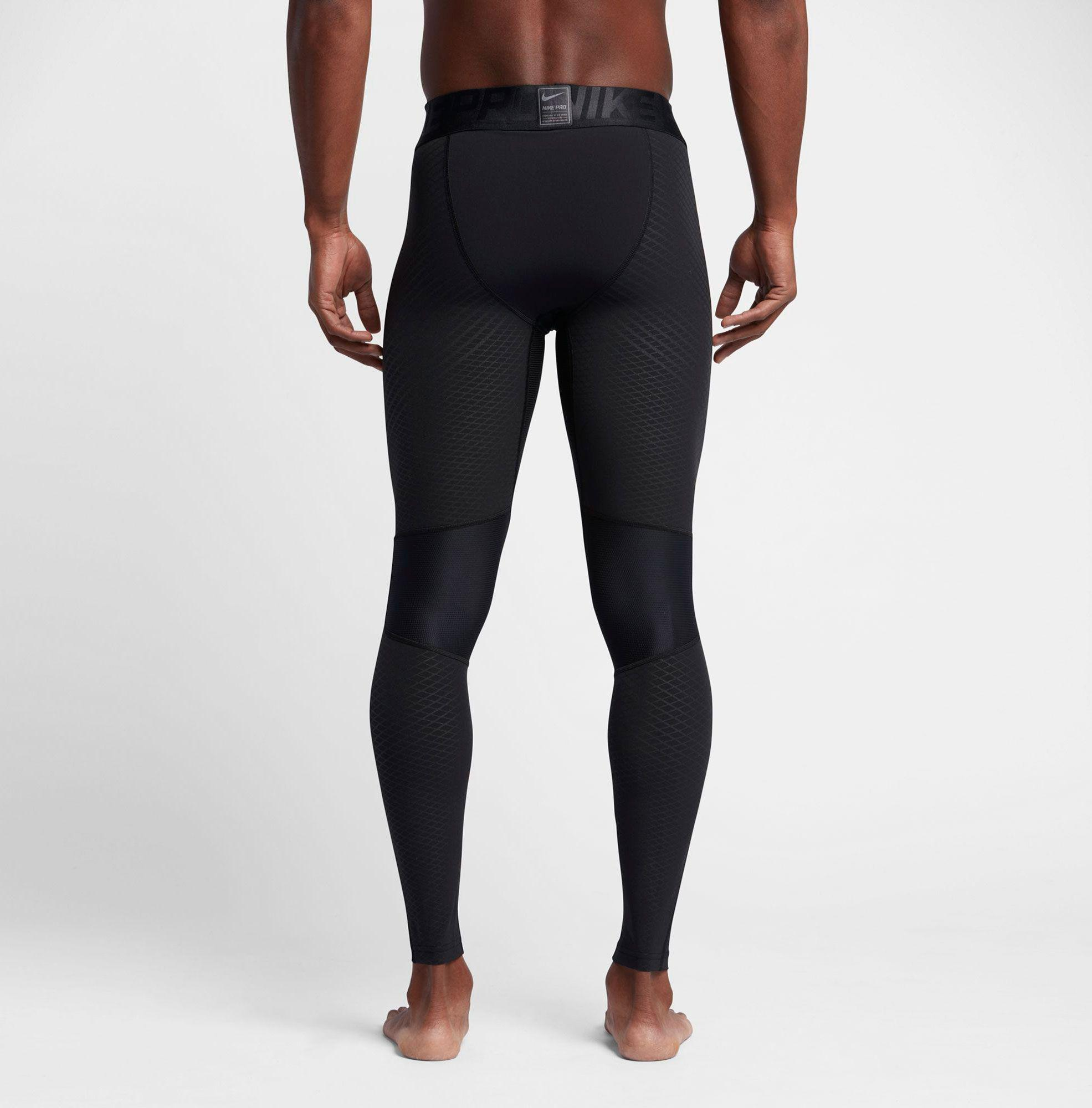 f0ec274c22 Nike Pro Zonal Strength Hyper Compression Tights in Black for Men - Lyst