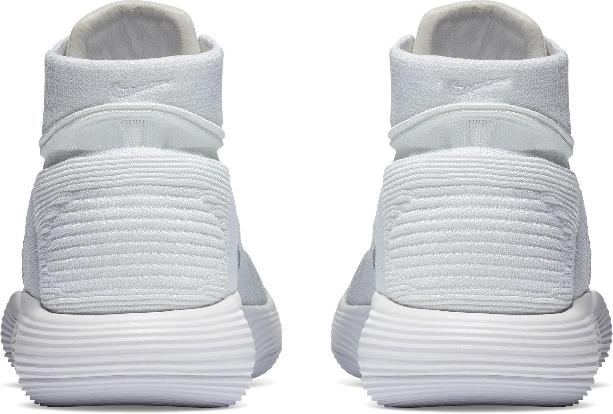 8dc0aa05f719 Nike - White React Hyperdunk 2017 Flyknit Basketball Shoes for Men - Lyst