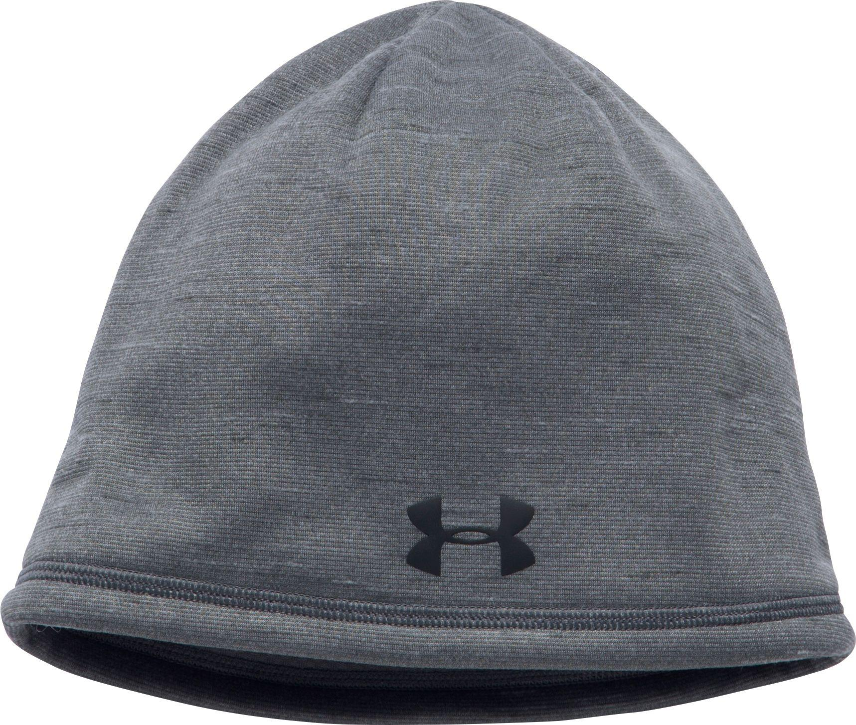 b03afc138c0 Lyst - Under Armour Coldgear Reactor Elements Beanie in Gray for Men