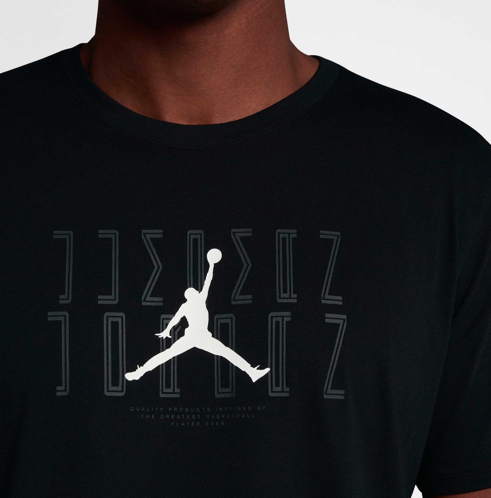 b0b8e8350797b6 Lyst - Nike Jordan Sportswear Aj 11 Graphic T-shirt in Black for Men