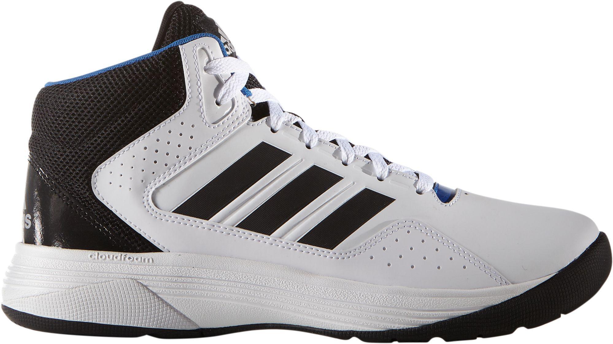 7a41dbcb67dd Lyst - adidas Neo Cloudfoam Ilation Mid Basketball Shoes in Black ...