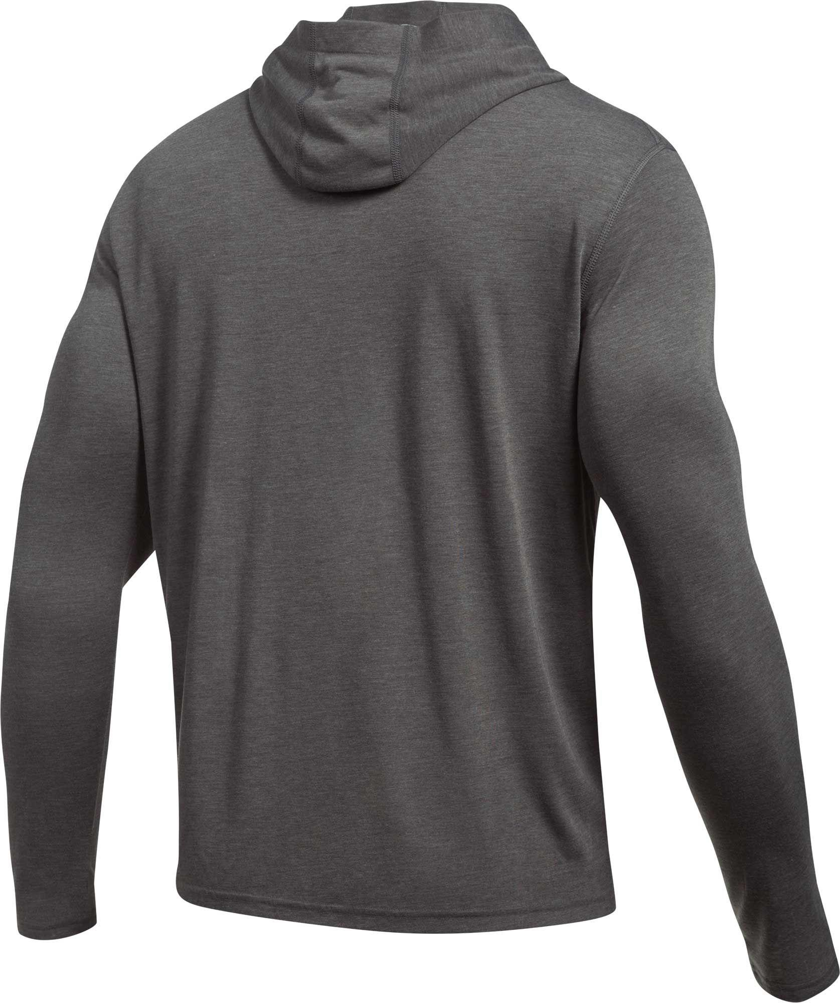 NEW Large UNDER ARMOUR UA TECH POPOVER HENLEY HOODIE LONG SLEEVE SHIRT MSRP $45