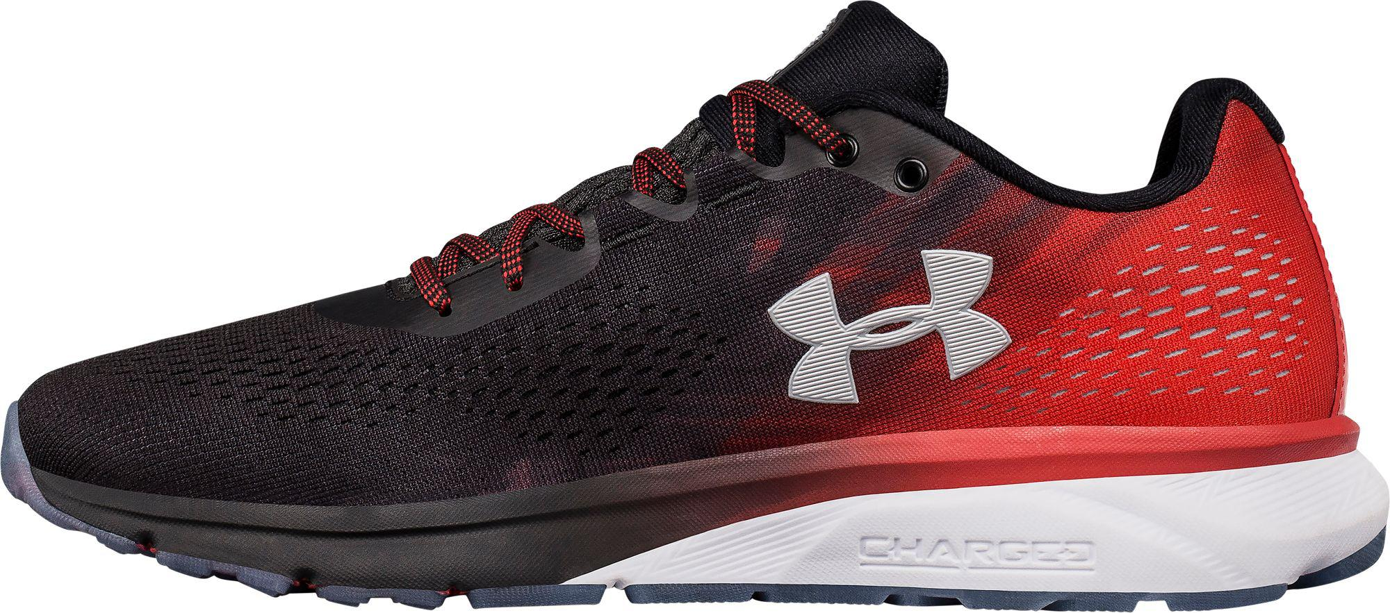 under armour charged patriot shoes off