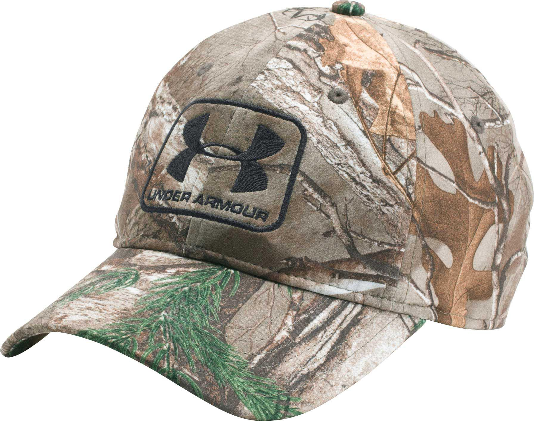 18da7ac7b82 Under Armour - Multicolor Camo Stretch Fit Hat for Men - Lyst. View  fullscreen