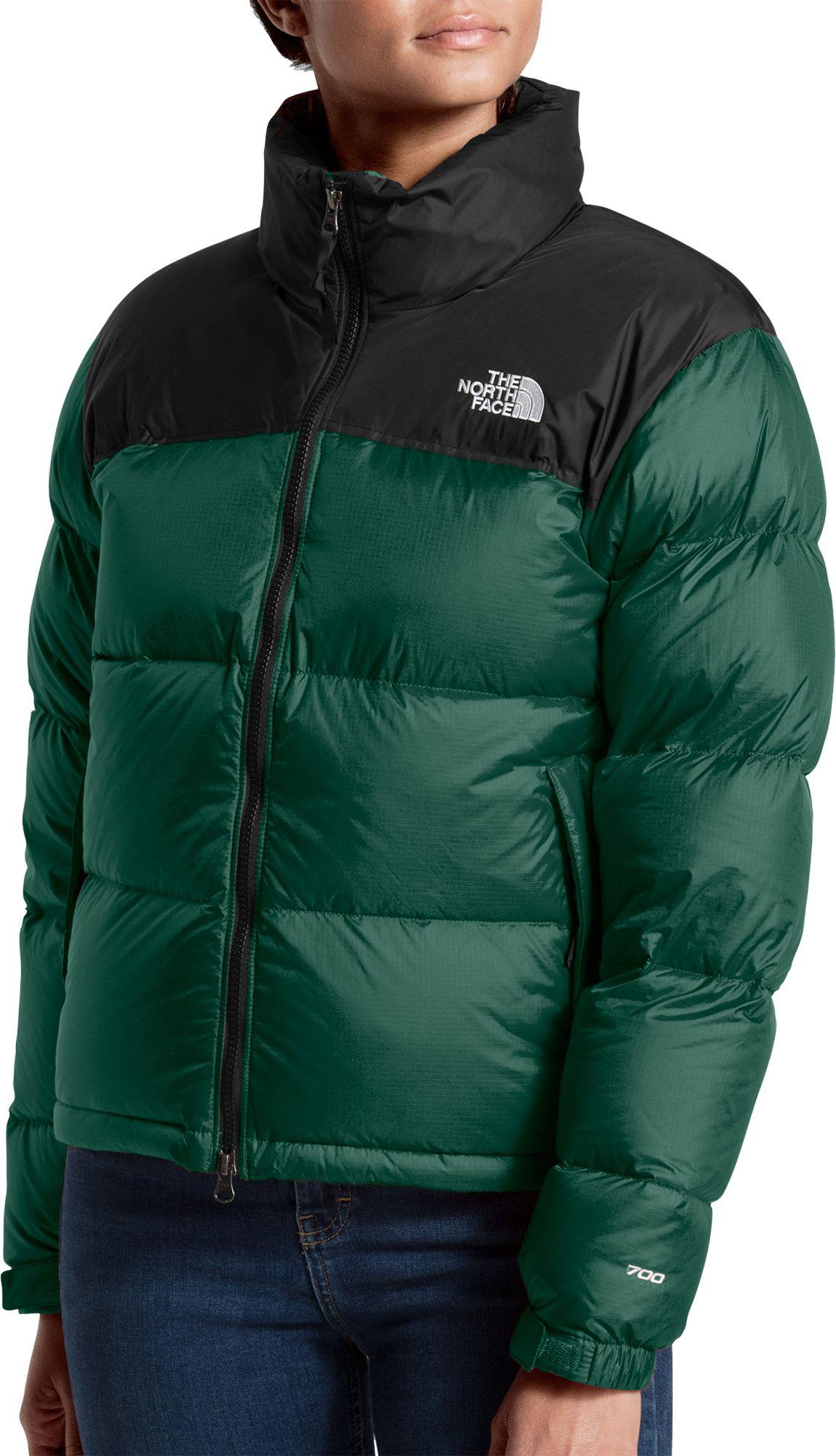 Lyst - The North Face 1996 Retro Nuptse Jacket in Green d96e0fb07