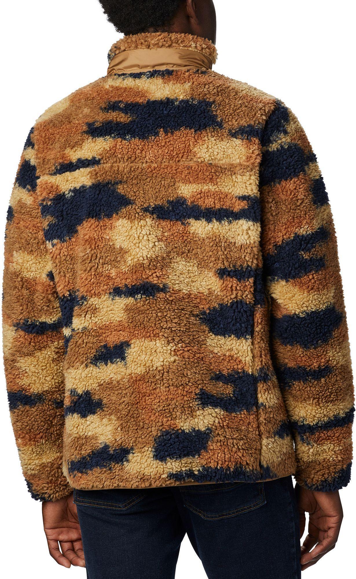 Columbia mens Winter Pass Print Fleece Full Zip