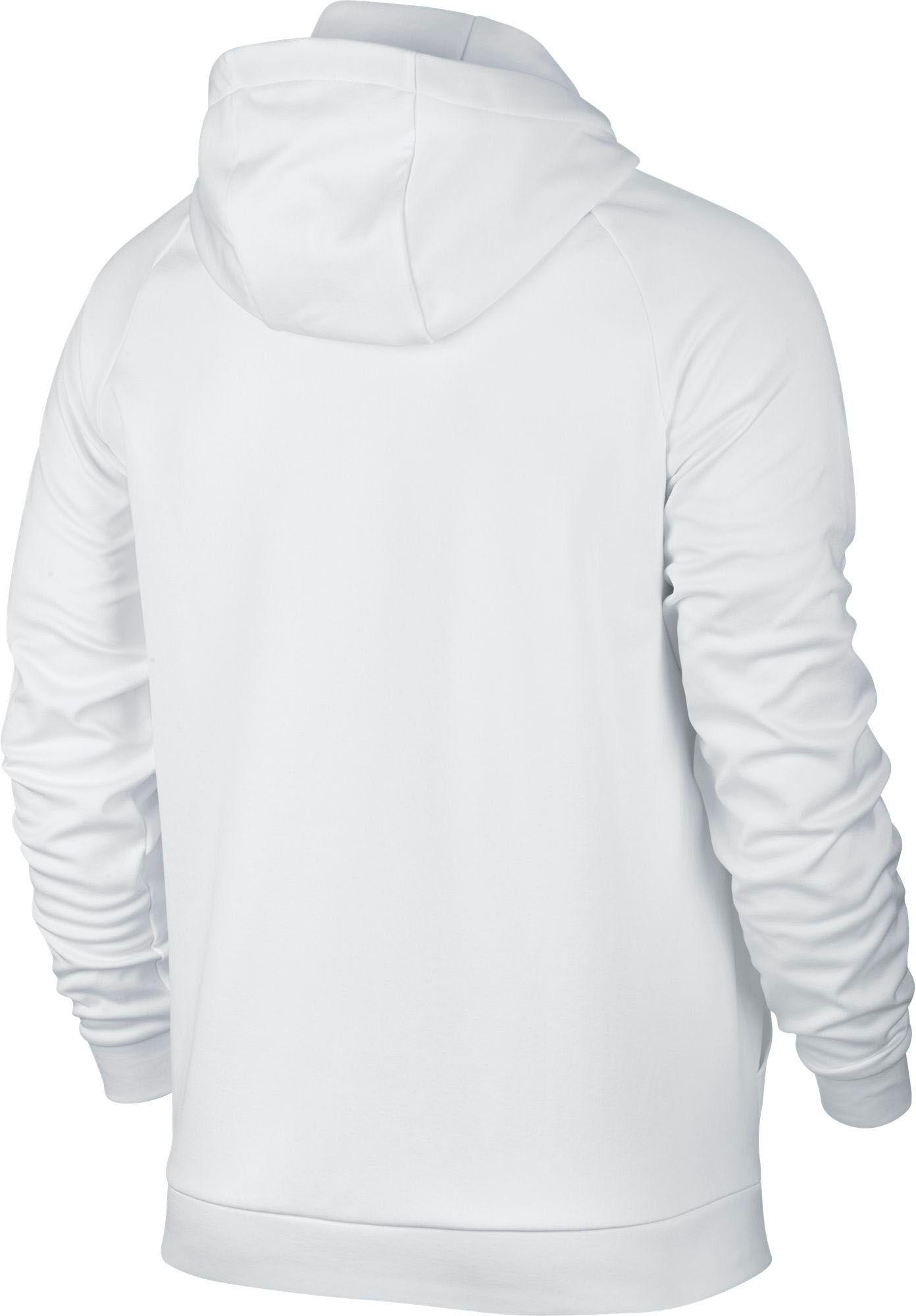 70a1de0ac6 Lyst - Nike Therma Bar Swoosh Hoodie in White for Men