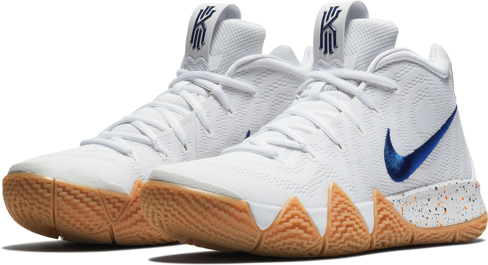 Lyst - Nike Kyrie 4 Basketball Shoes in White for Men a0da6c906