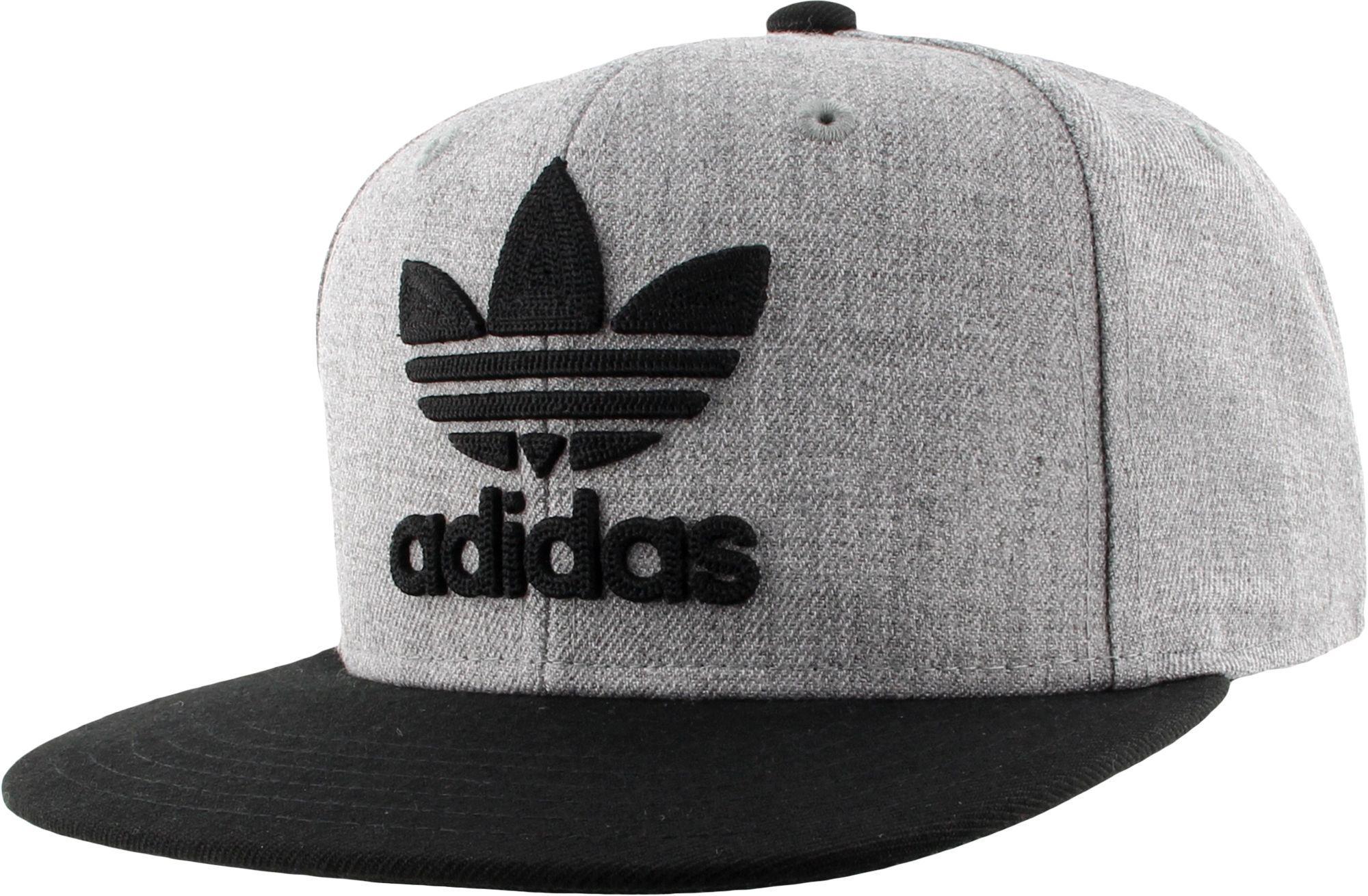 Lyst - adidas Originals Trefoil Chain Snapback Hat in Gray for Men 3a32066c29af