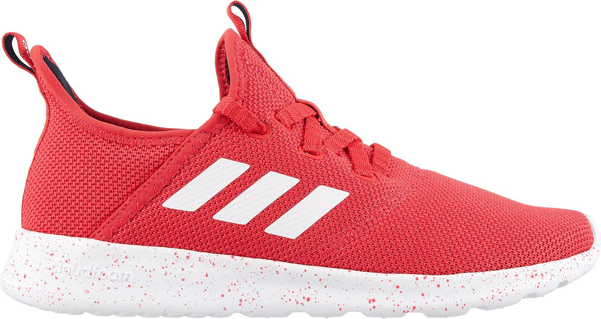 adidas cloudfoam red shoes cheap online