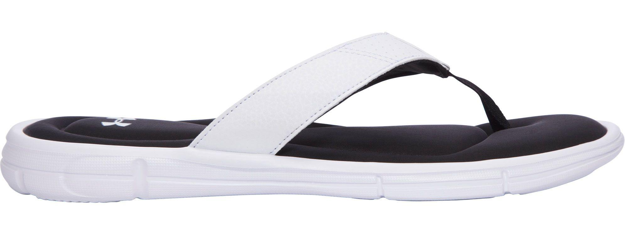 fd3f617c103a Lyst - Under Armour Ignite Ii Thong Flip Flops in White for Men ...