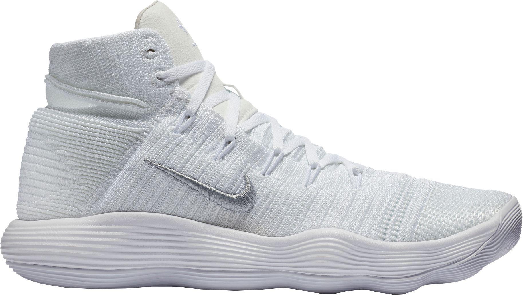 0f38dbfeee7 Nike - White React Hyperdunk 2017 Flyknit Basketball Shoes for Men - Lyst