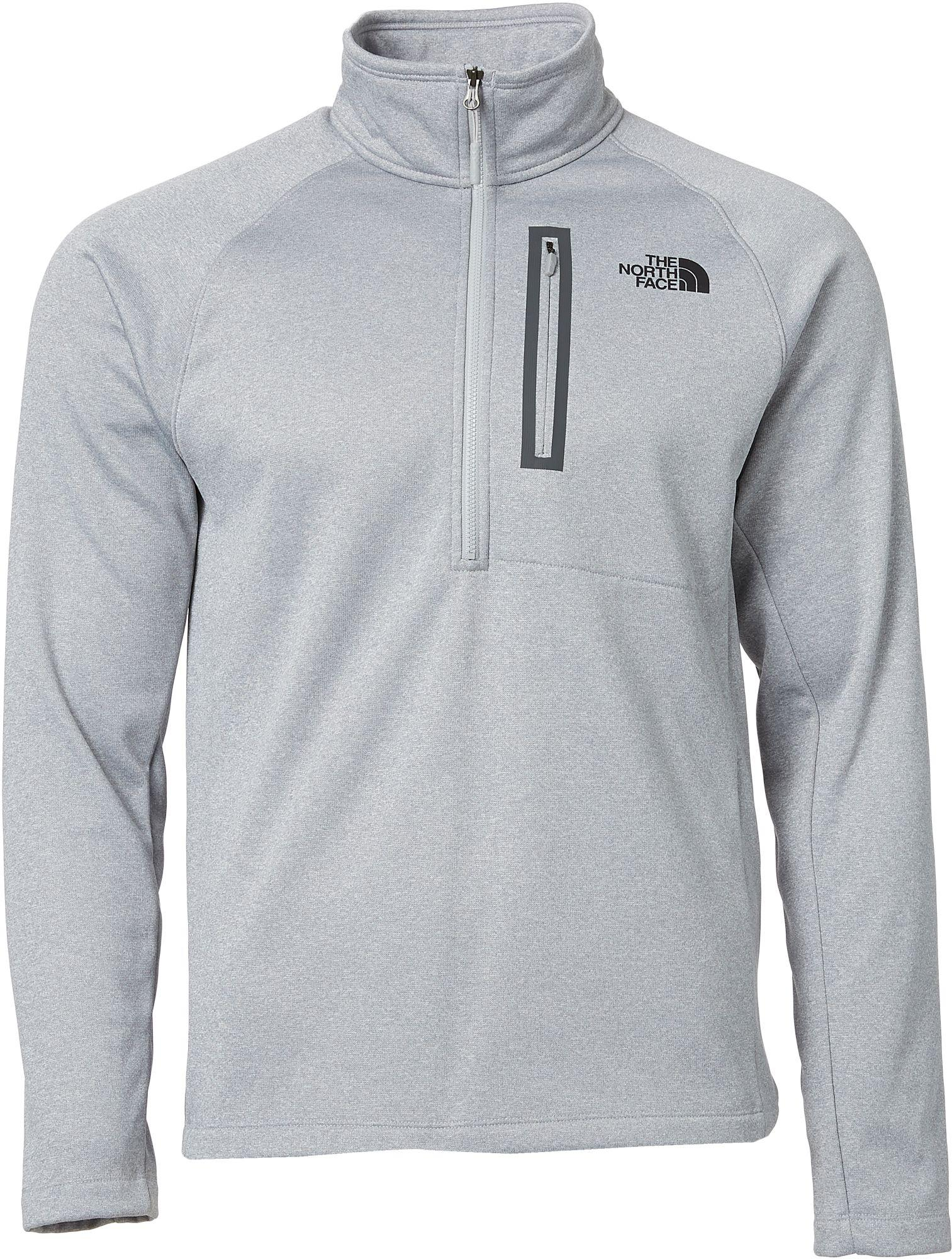 6a116d4a7 The North Face Gray Canyonlands Half Zip Pullover - Past Season for men