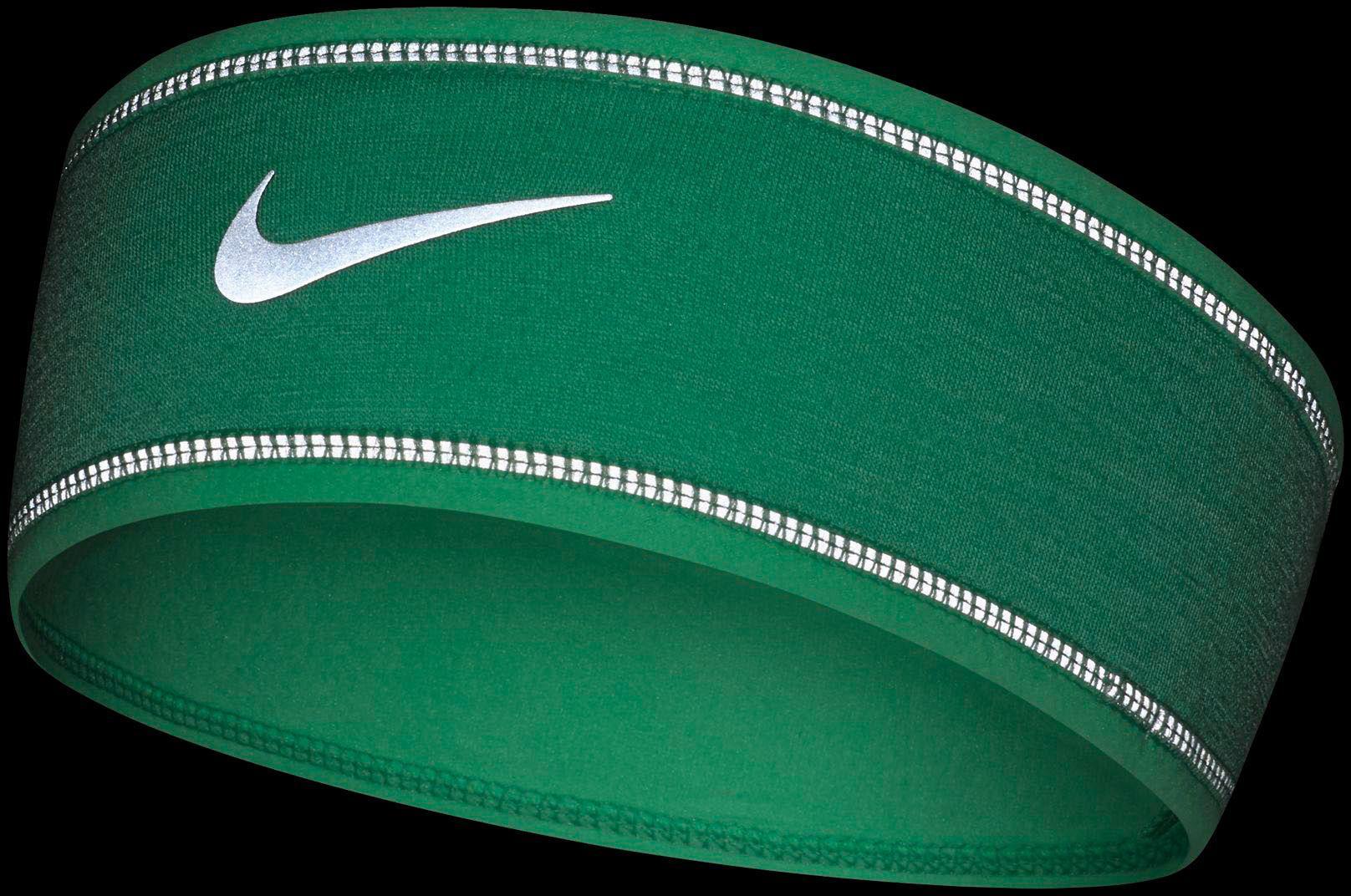 Nike - Green Run Flash Running Headband - Lyst. View fullscreen ea17ff004a3